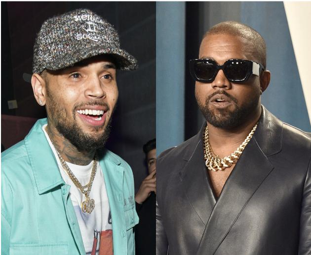 Chris Brown, Kanye West