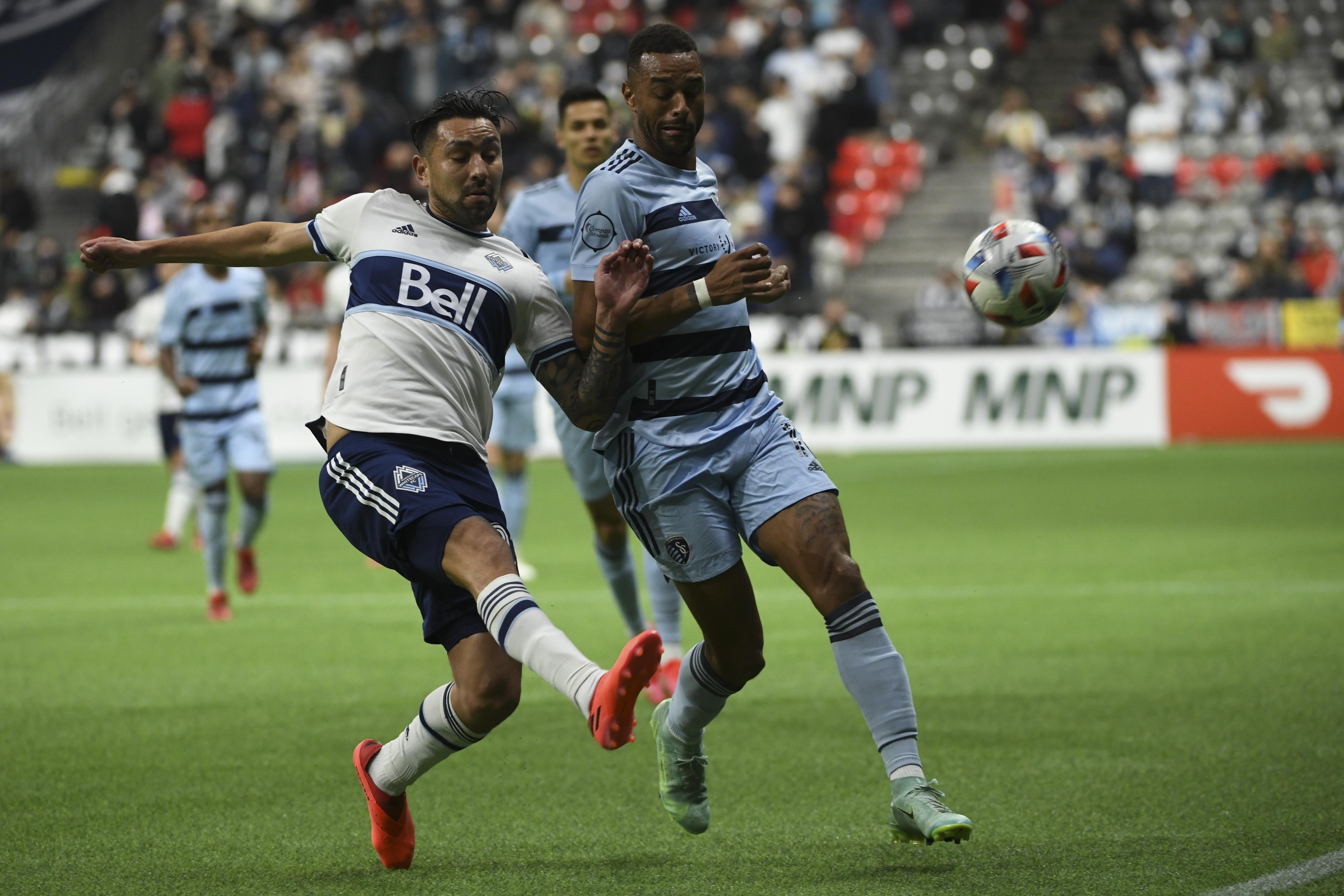MLS: Sporting Kansas City at Vancouver Whitecaps FC