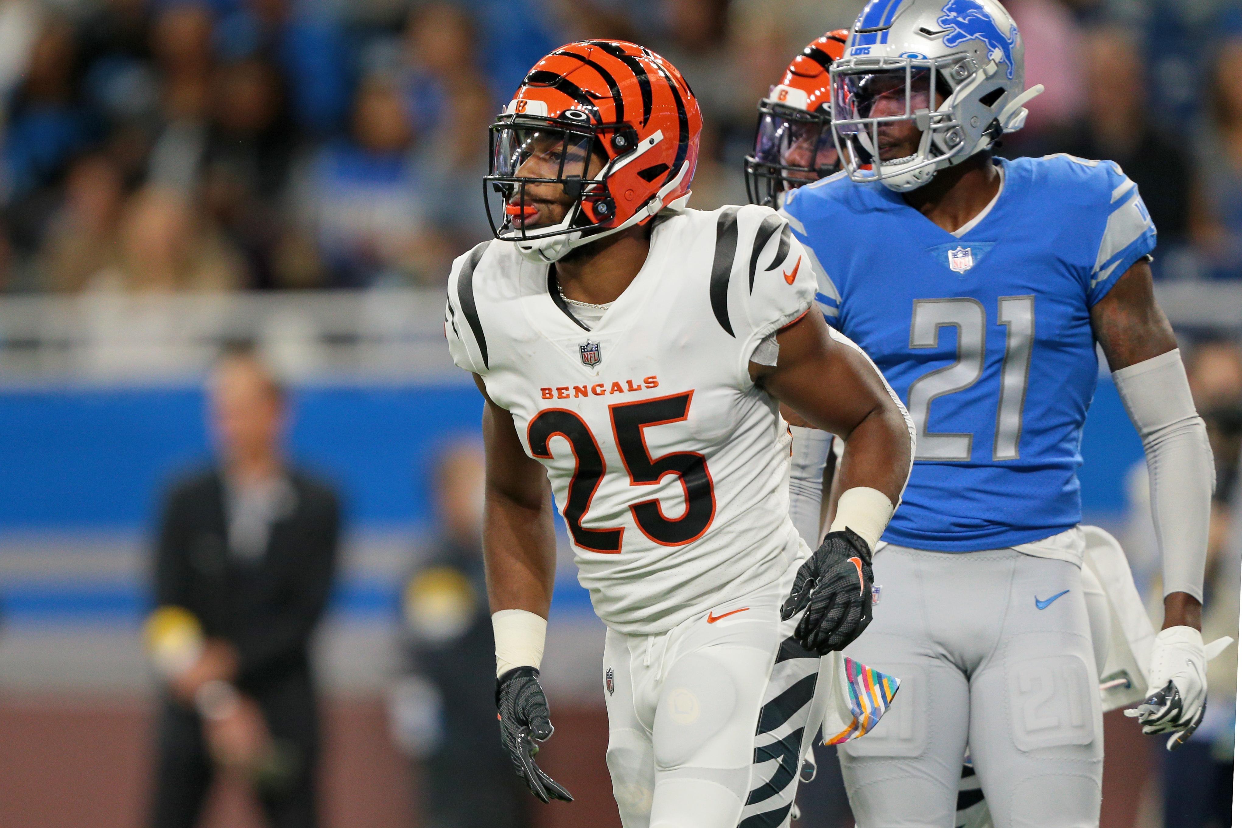 Cincinnati Bengals vs Detroit Lions