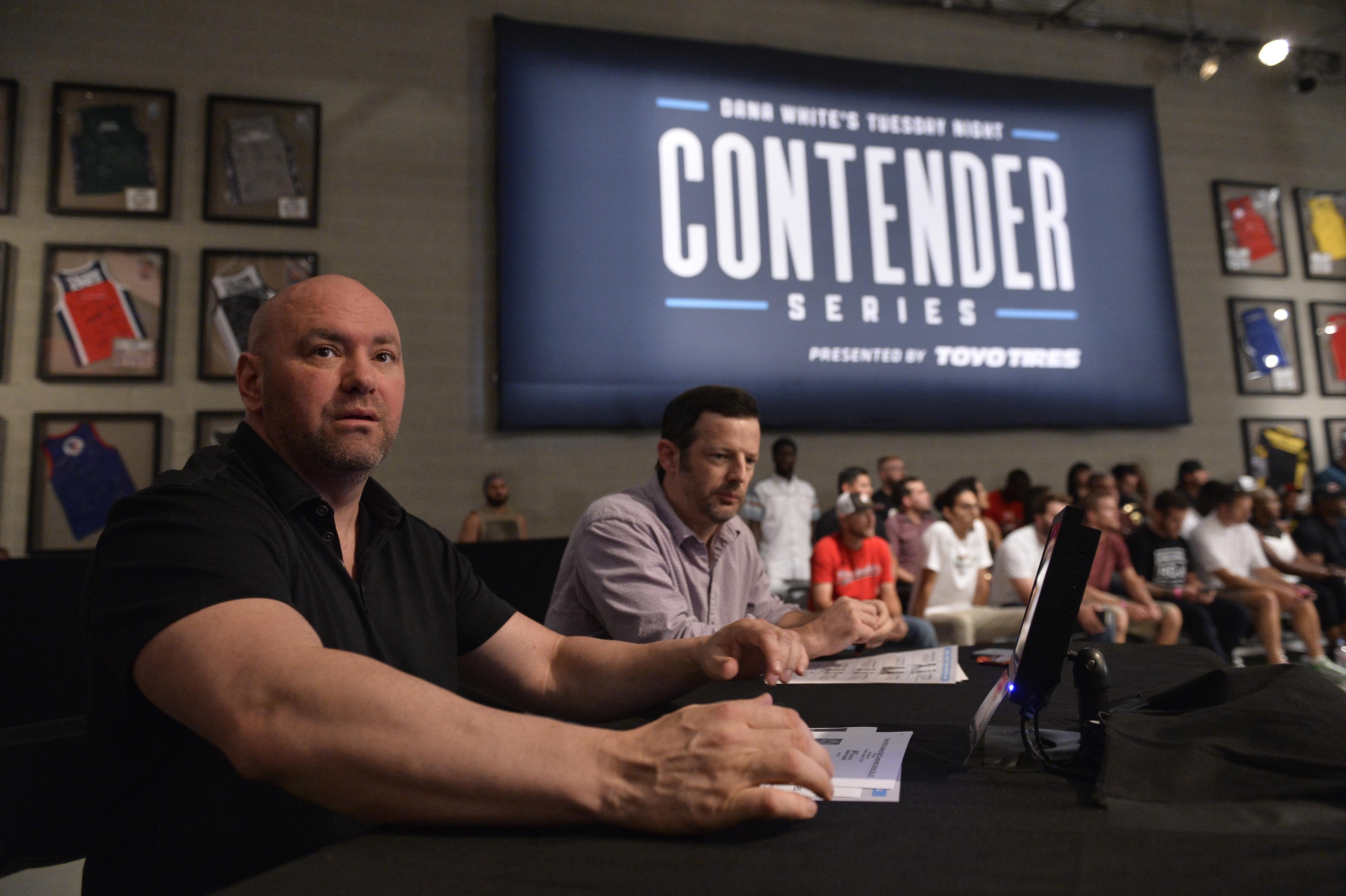 Dana White's Tuesday Night Contender Series: Mayes v Crowder