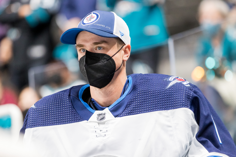 NHL: OCT 16 Jets at Sharks