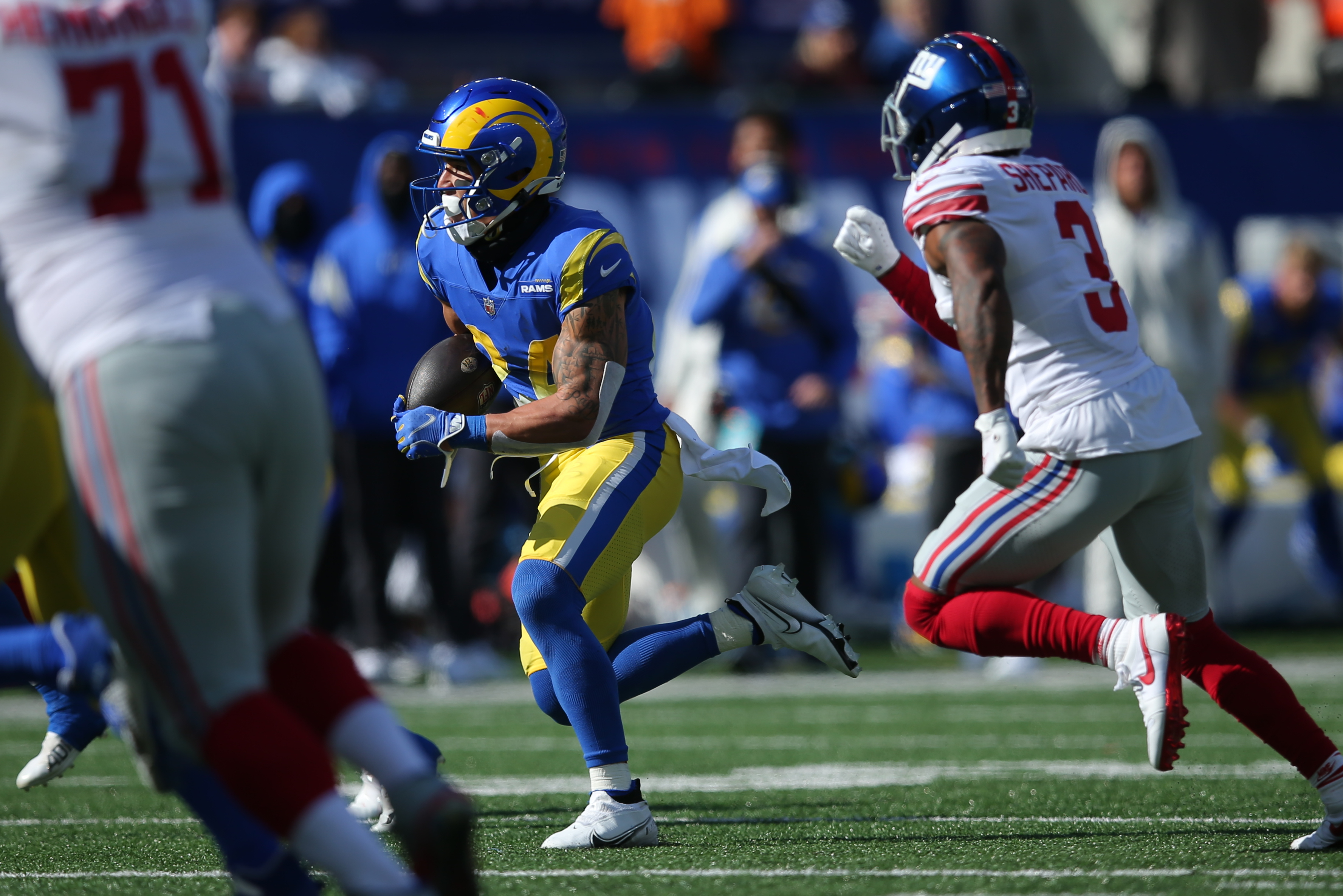 NFL: Los Angeles Rams at New York Giants