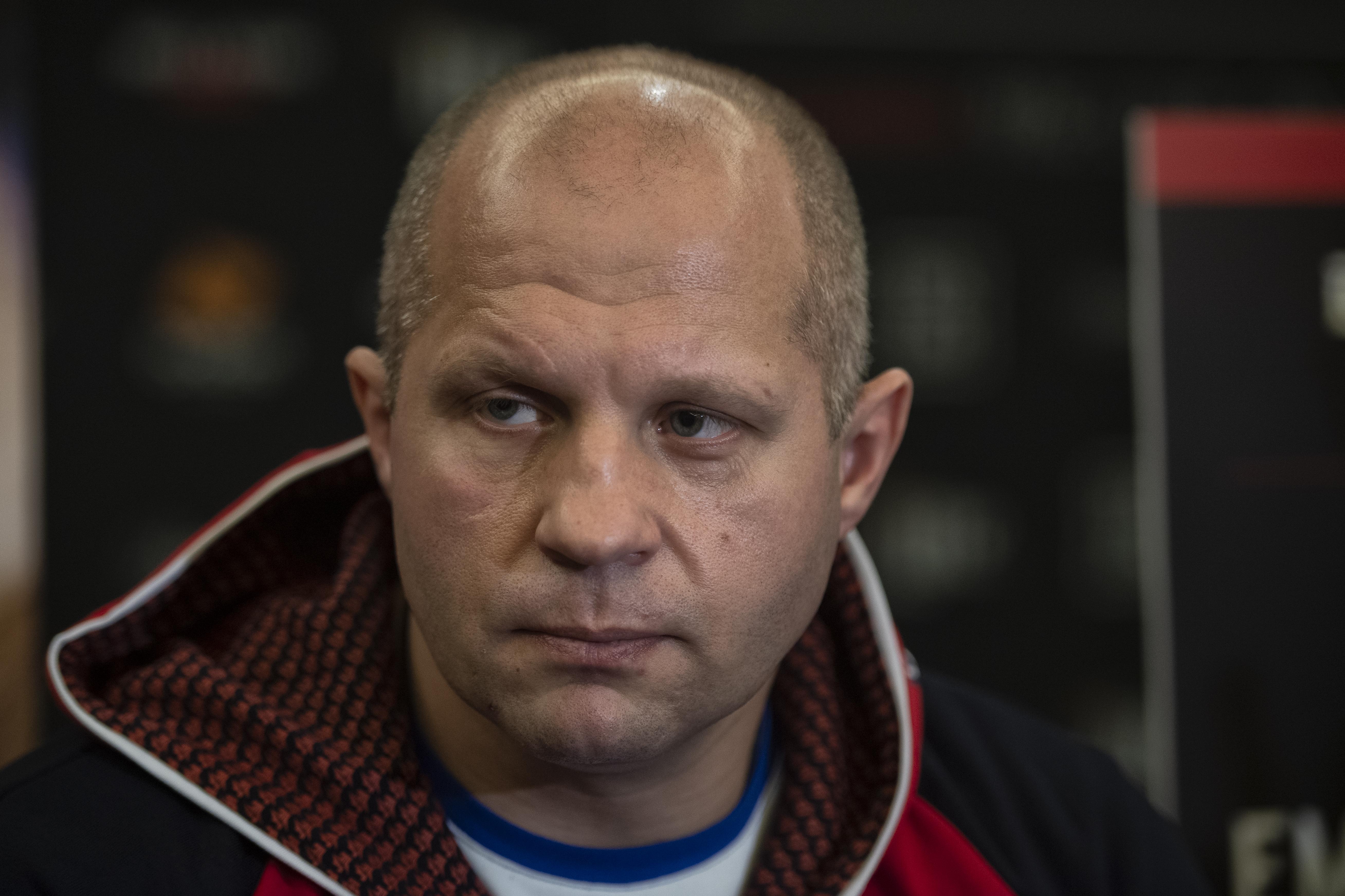 Fedor Emelianenko has strong words for UFC president Dana White
