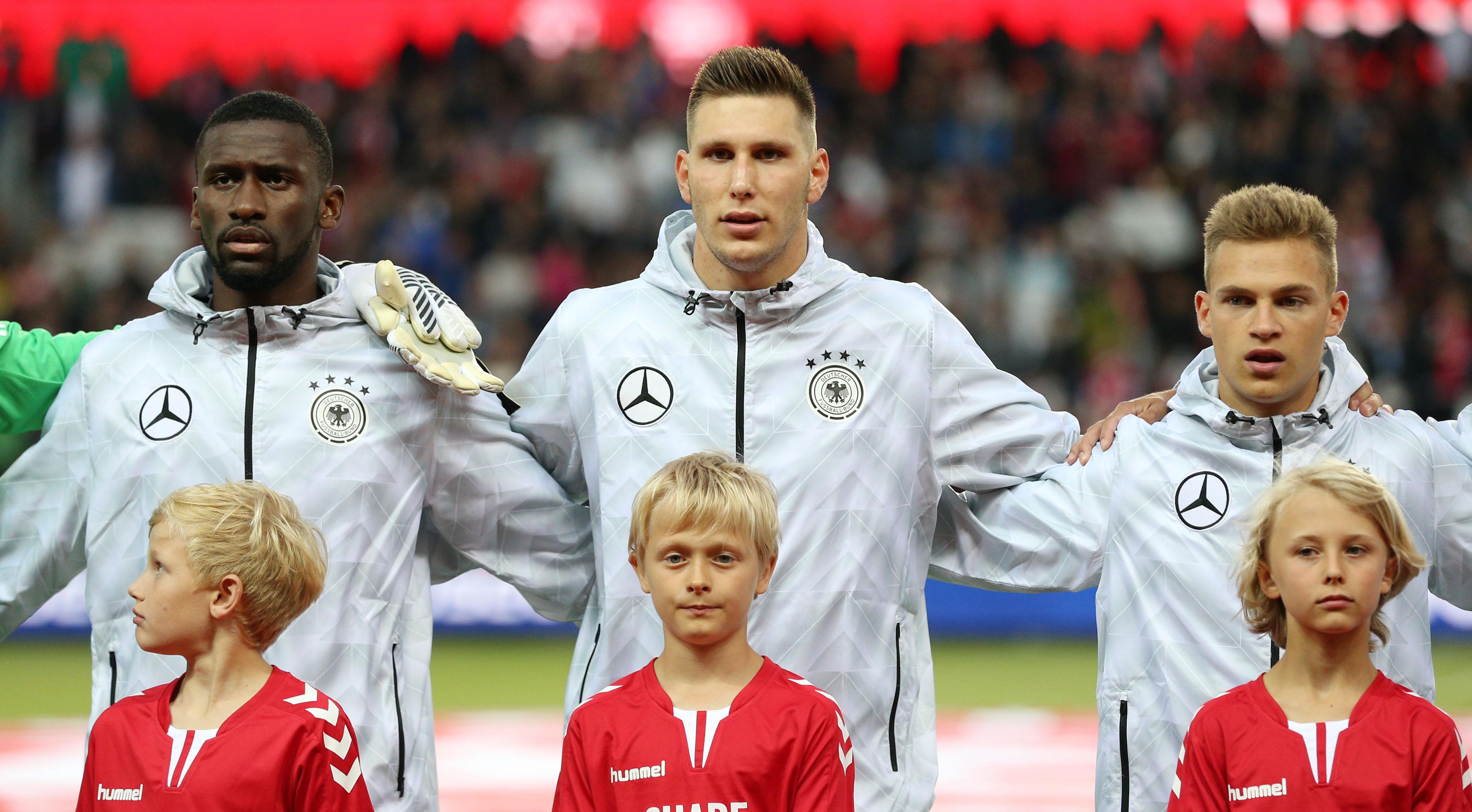 Laenderspiel Daenemark - Deutschland