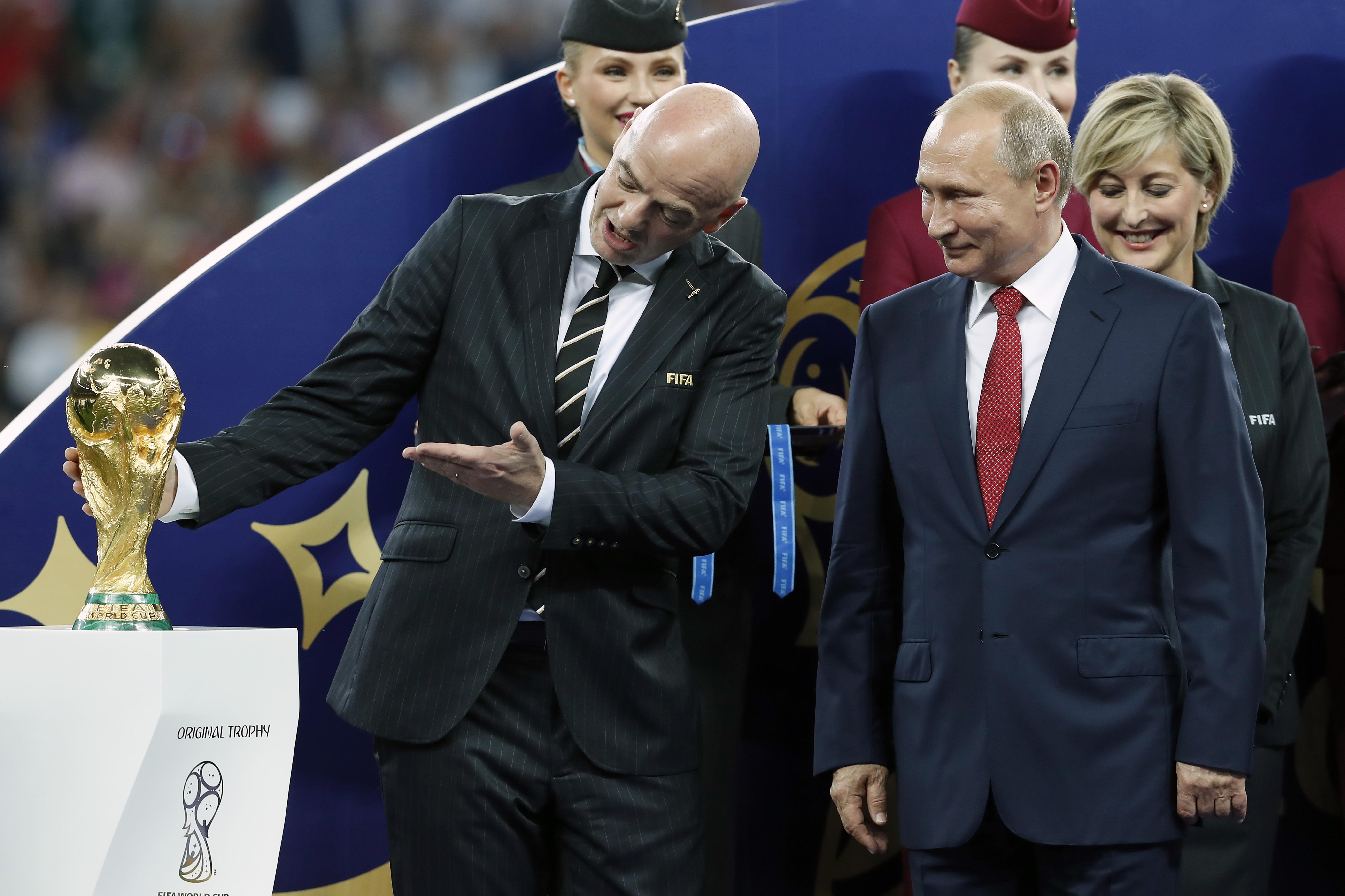 "FIFA World Cup 2018 Russia""France v Croatia"""