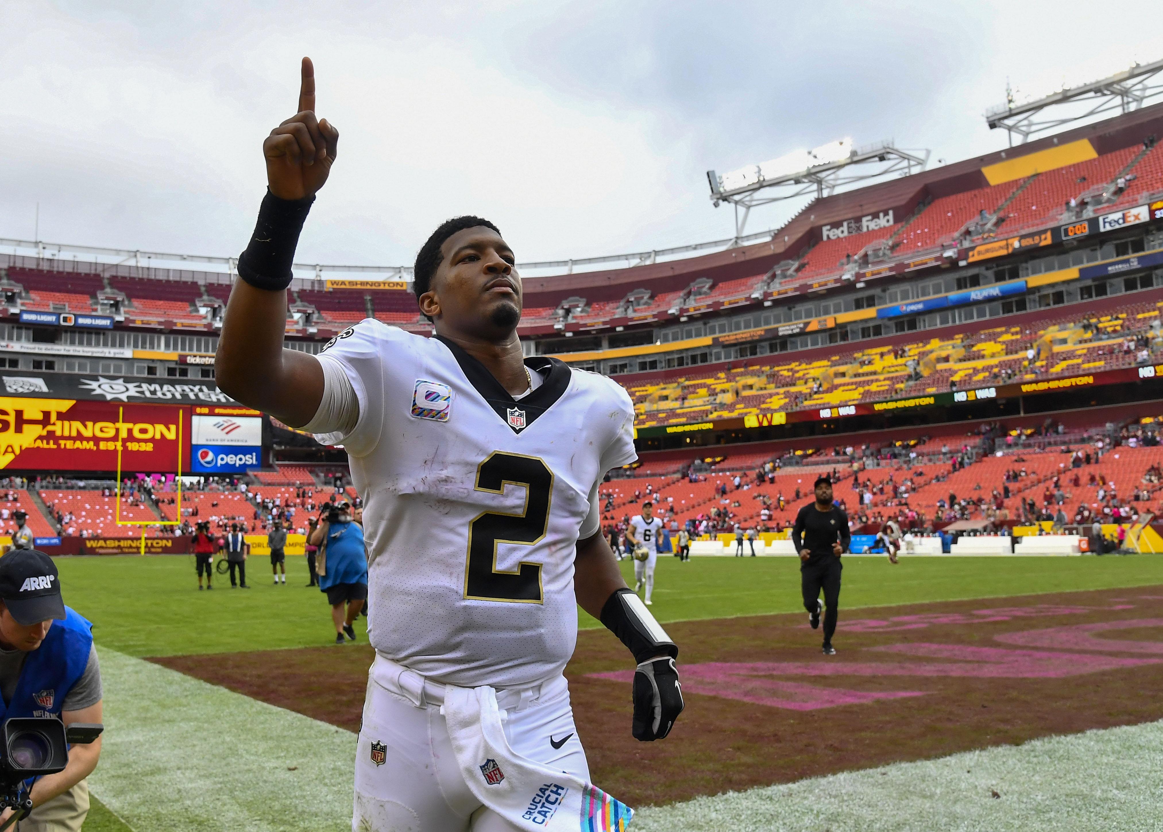 NFL: New Orleans Saints at Washington Football Team