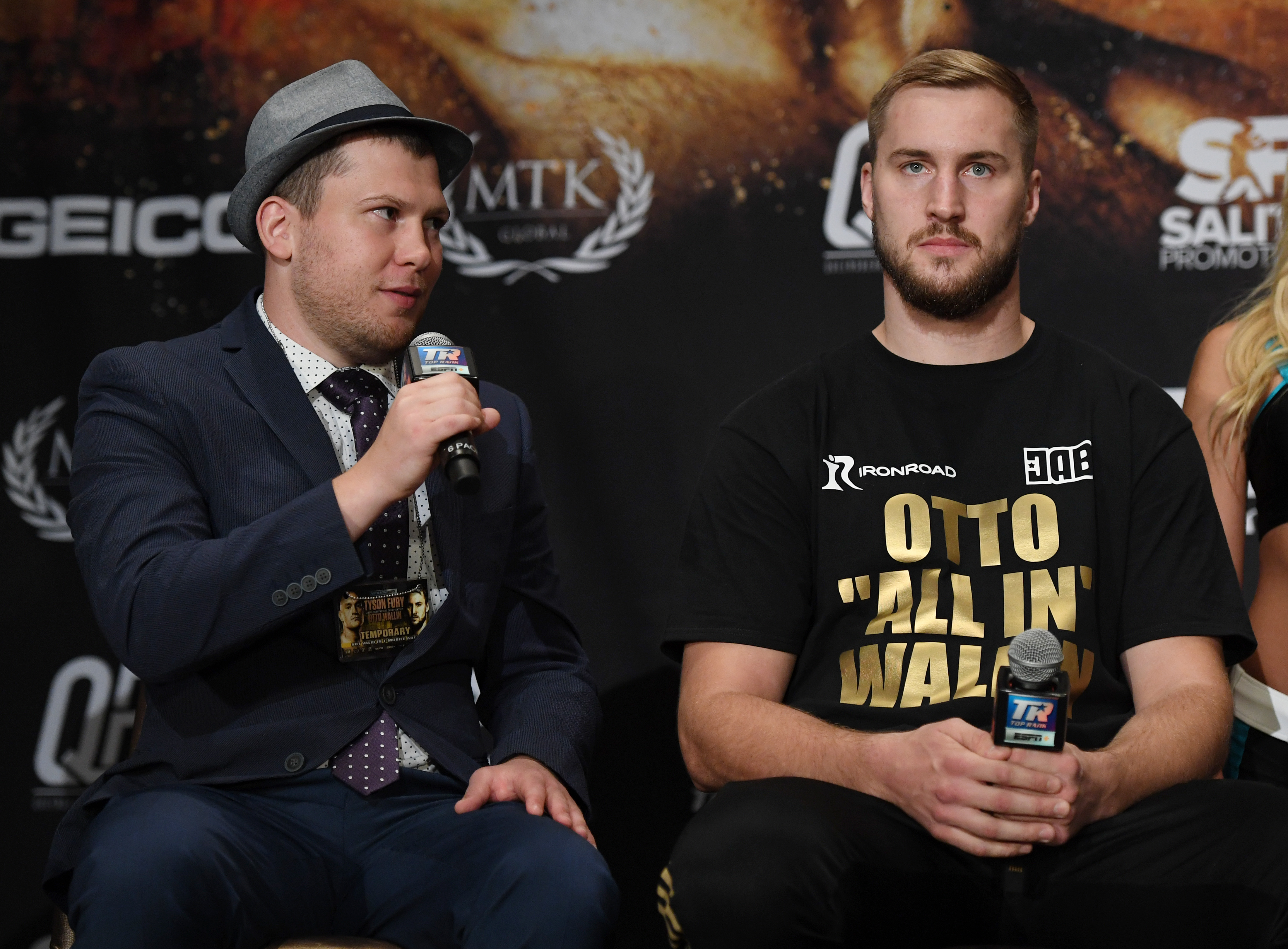 Promoter Dmitry Salita is skeptical about Dillian Whyte's reported injury