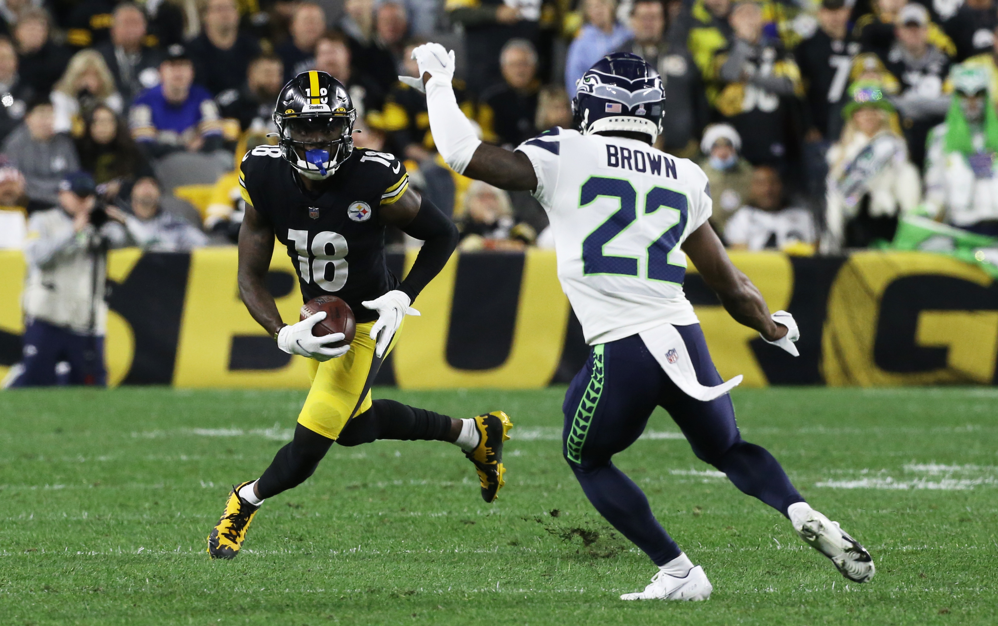 NFL: Seattle Seahawks at Pittsburgh Steelers