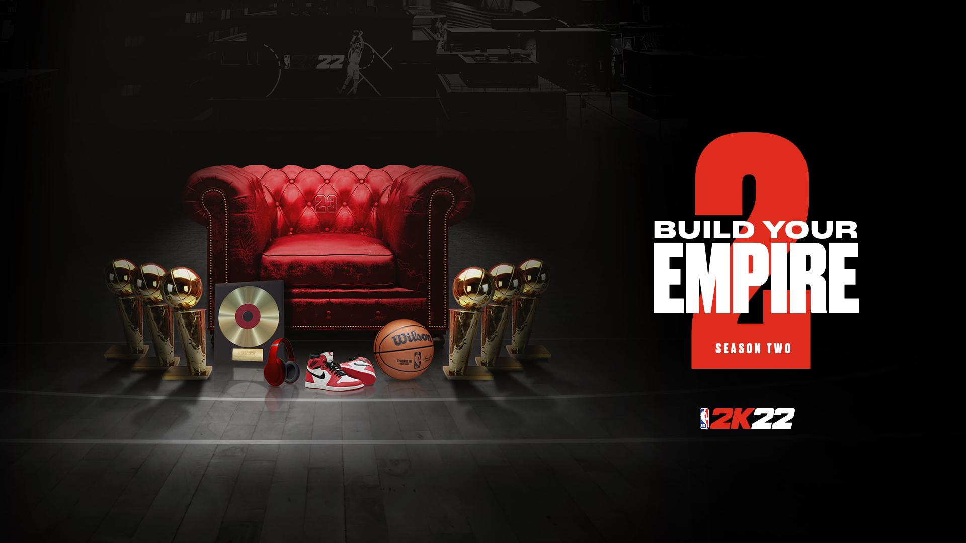 Photo for Season 2 for NBA 2K22 MyTeam and MyCareer.
