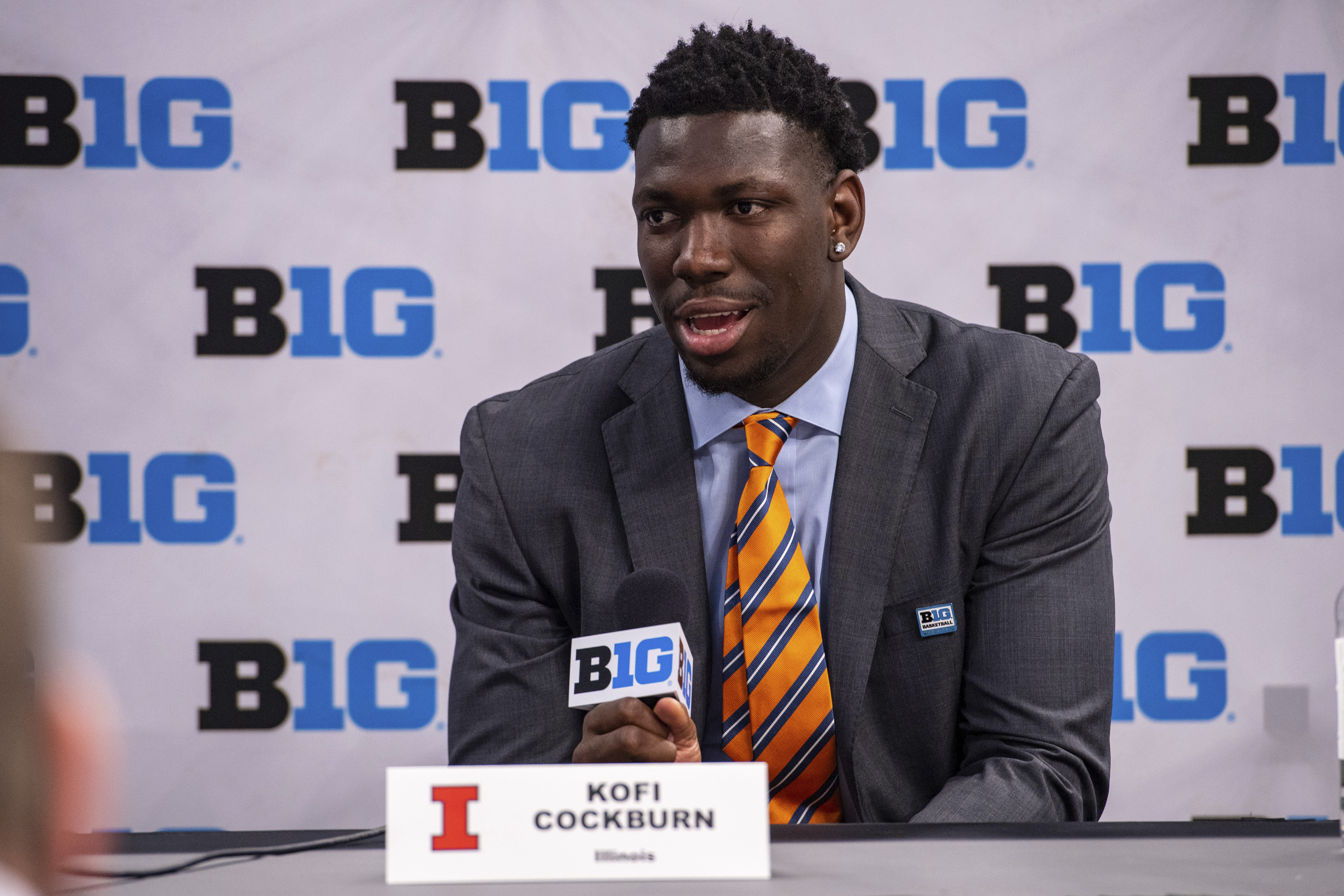 """""""I'm willing to put the work in, and I'm willing to put it all on the line,"""" Kofi Cockburn said. """"Illinois basketball means a lot to me."""""""