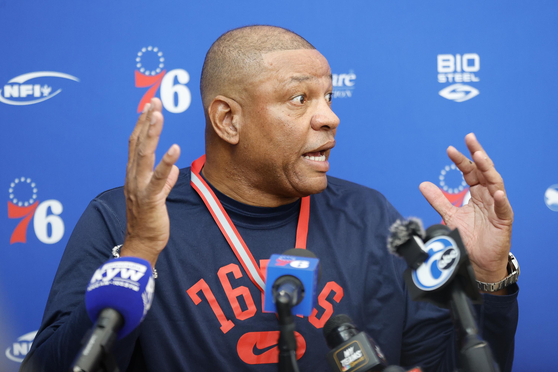 Philadelphia 76ers Practice Session