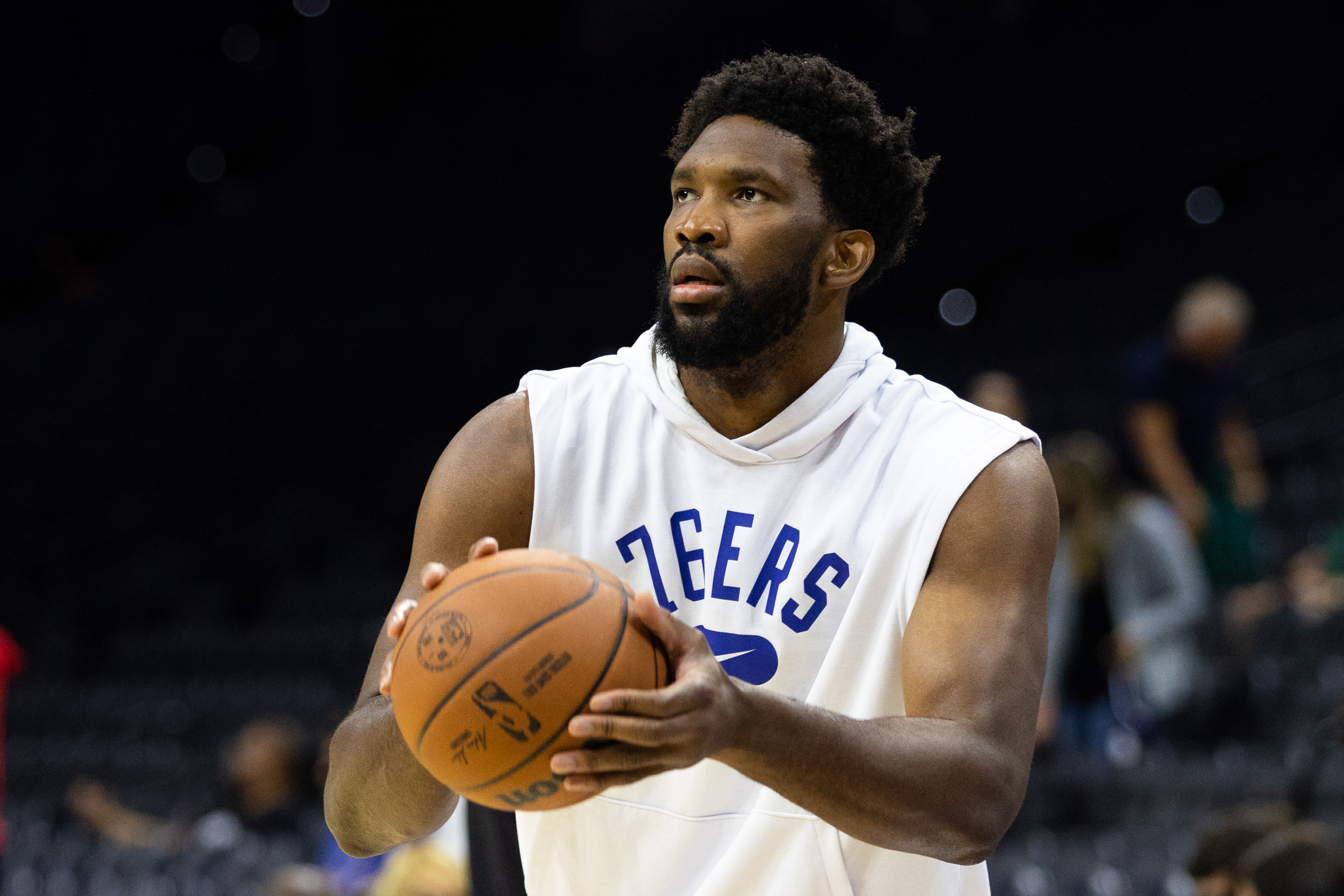 NBA: Preseason-Brooklyn Nets at Philadelphia 76ers