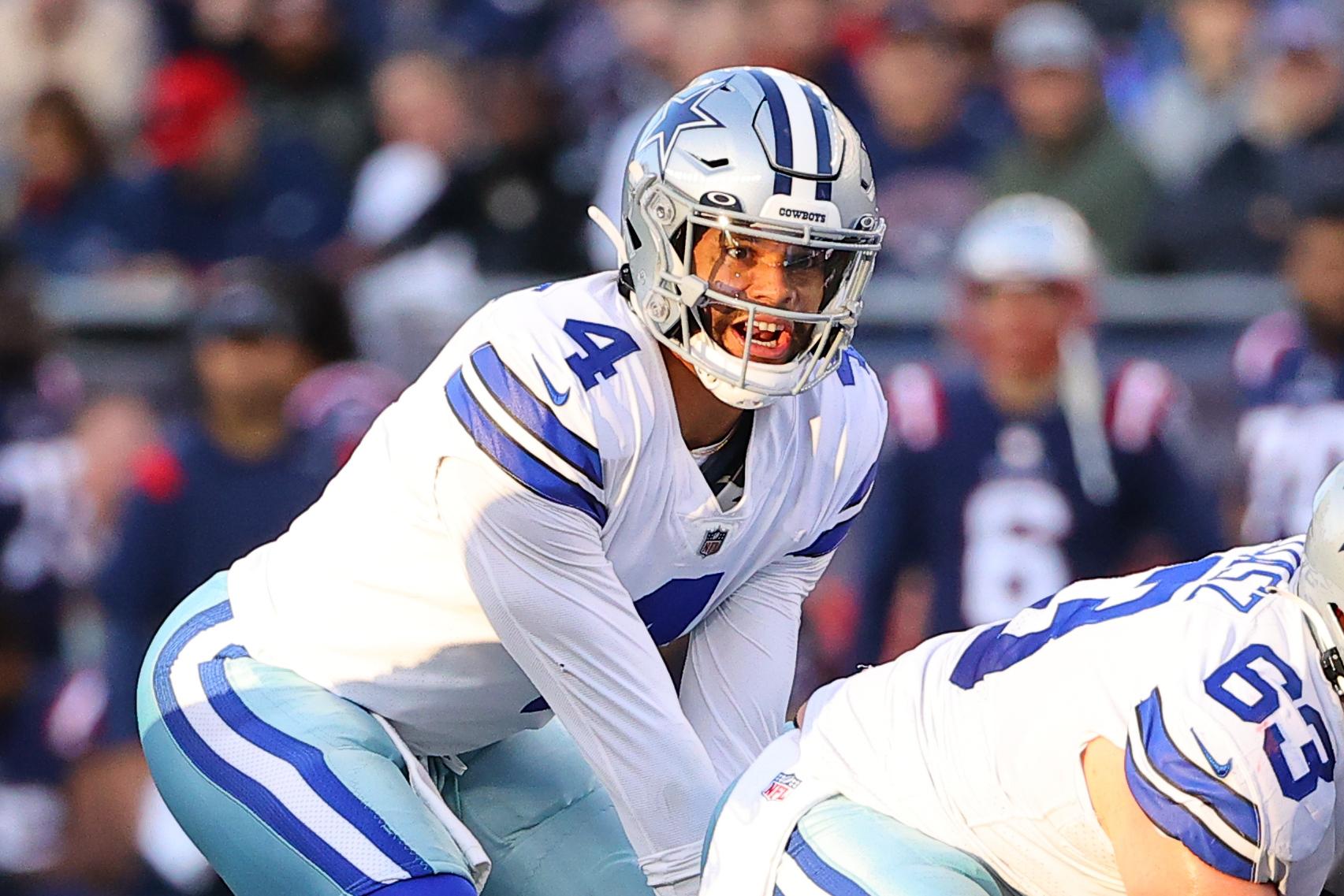 NFL: OCT 17 Cowboys at Patriots