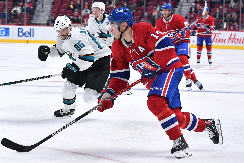 San Jose Sharks v Montreal Canadiens