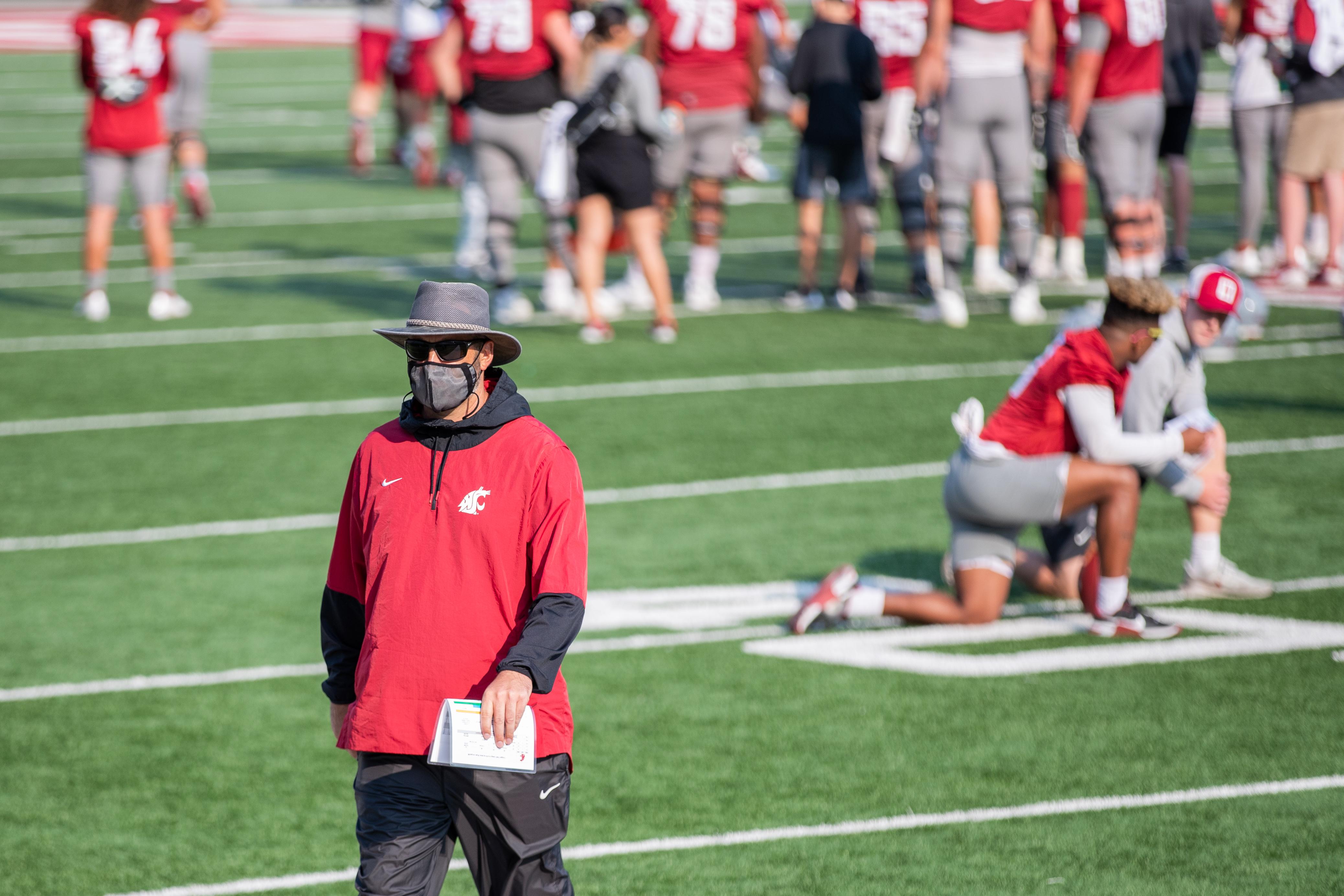 Washington State University Football Fall Practice 12 - Head Coach Nick Rolovich