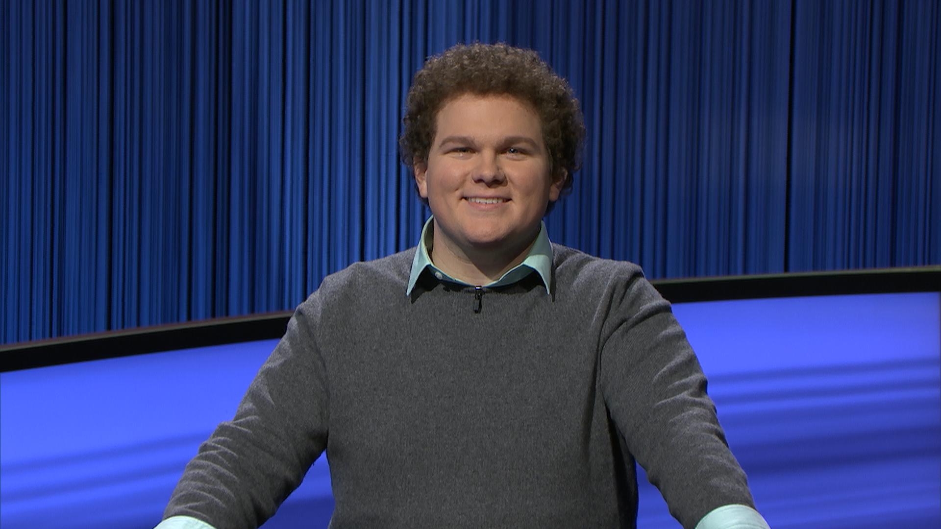"""Jeopardy!"" champion Jonathan Fisher is on a big winning streak."