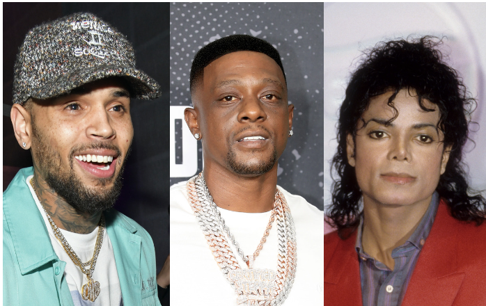Chris Brown, Boosie, Michael Jackson
