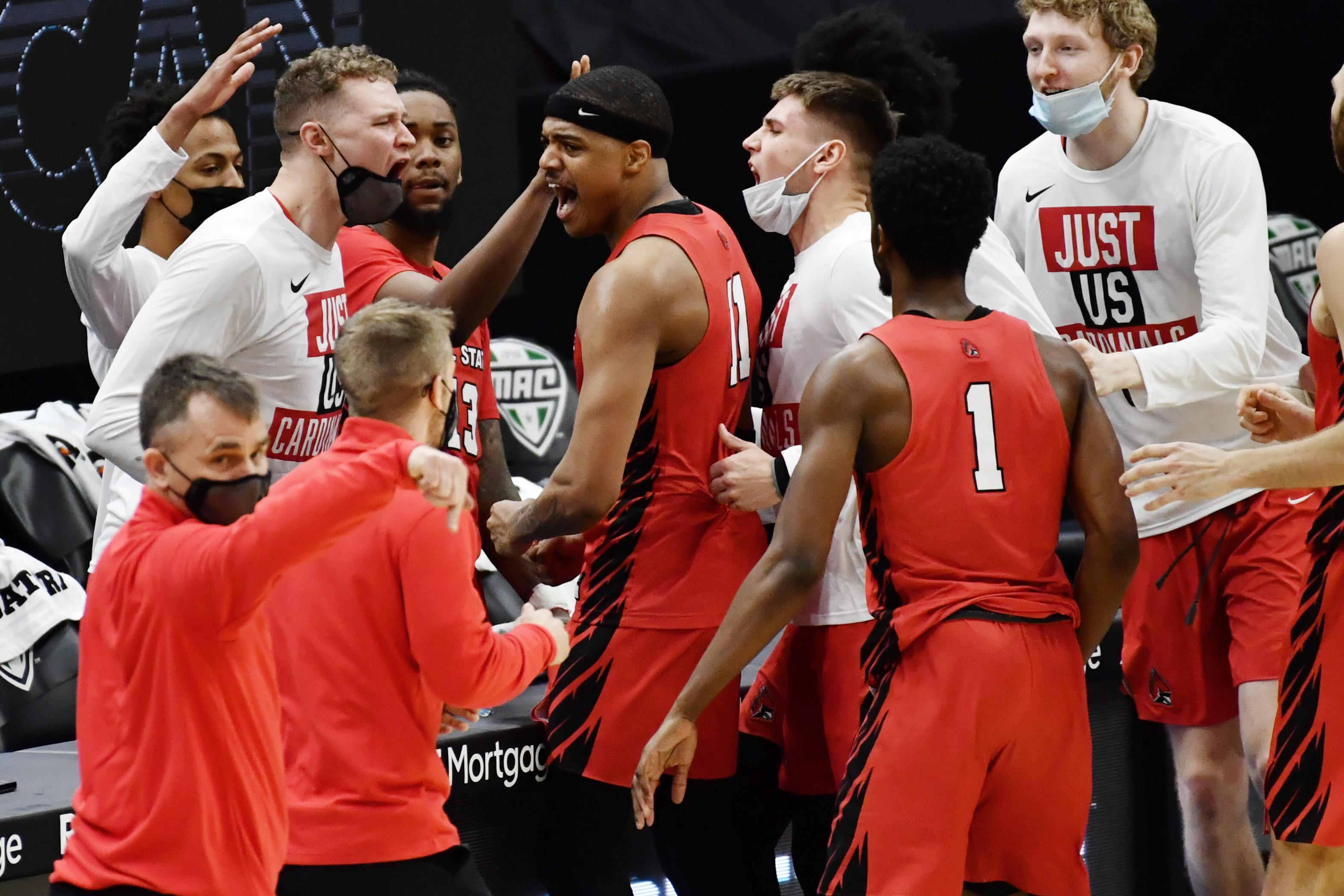 NCAA Basketball: MAC Conference Tournament - Toledo vs Ball State