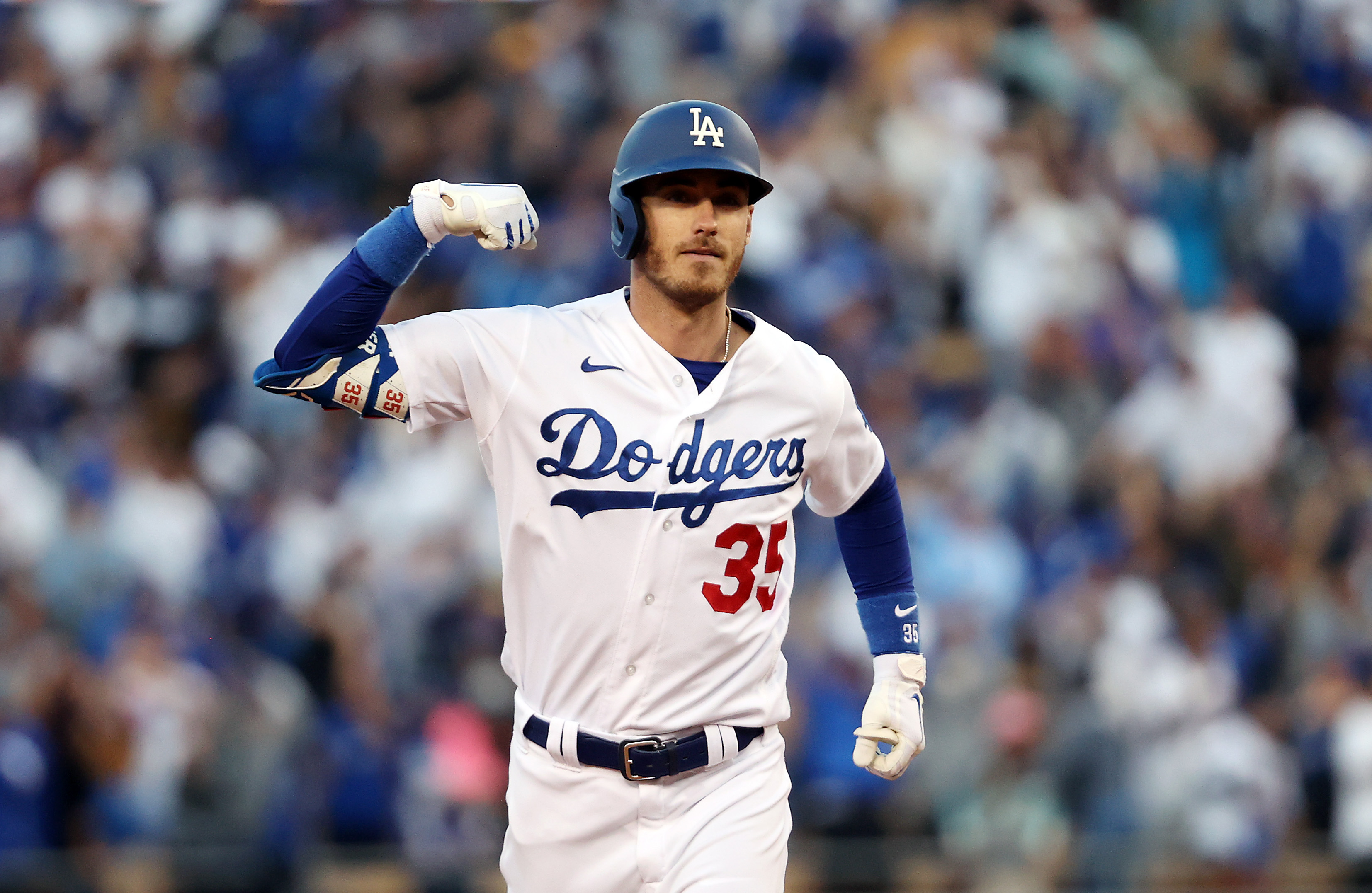 Championship Series - Atlanta Braves v Los Angeles Dodgers - Game Three