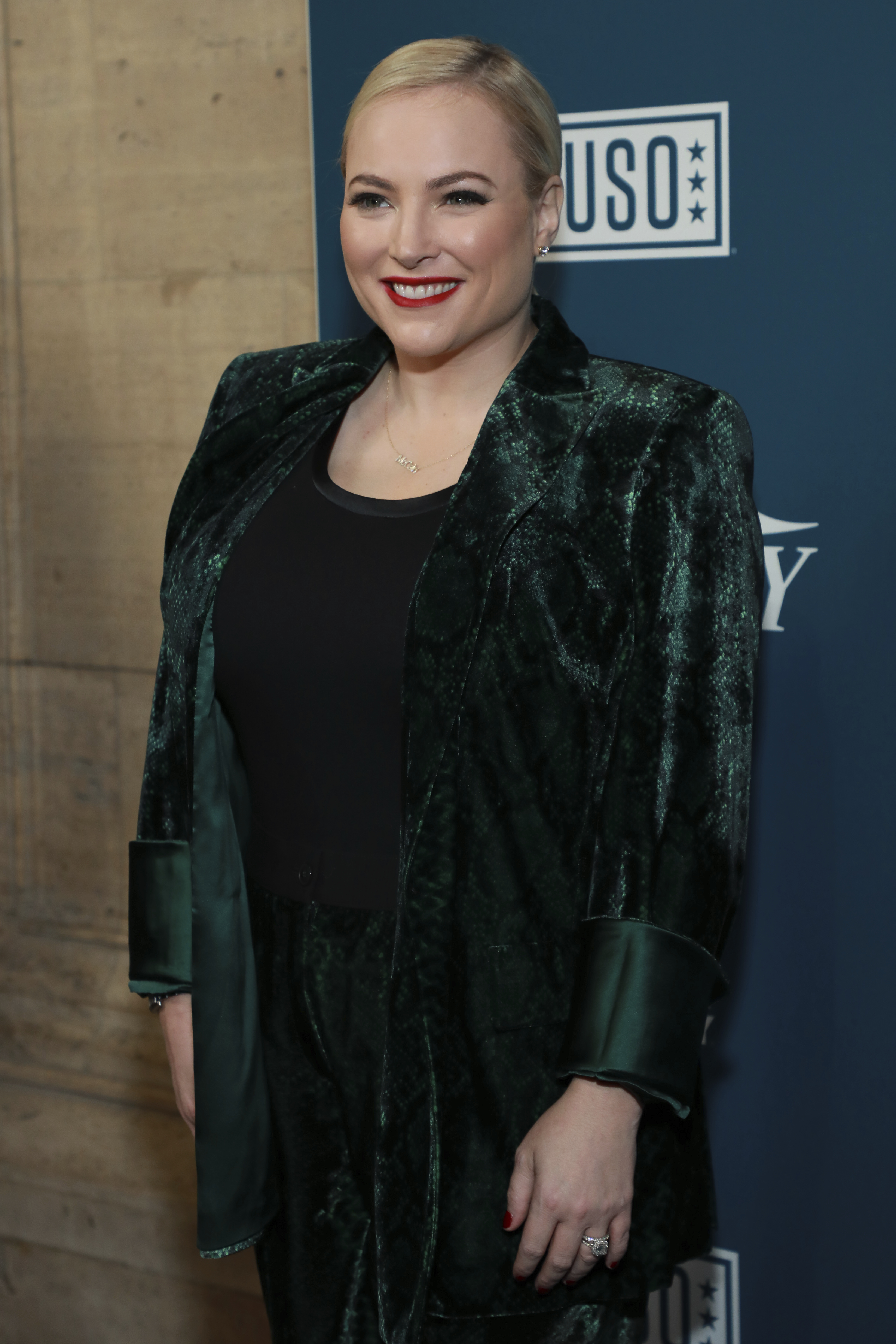 """Meghan McCain attends Variety's third annual """"Salute to Service"""" celebration on Wednesday, Nov. 6, 2019, in New York."""