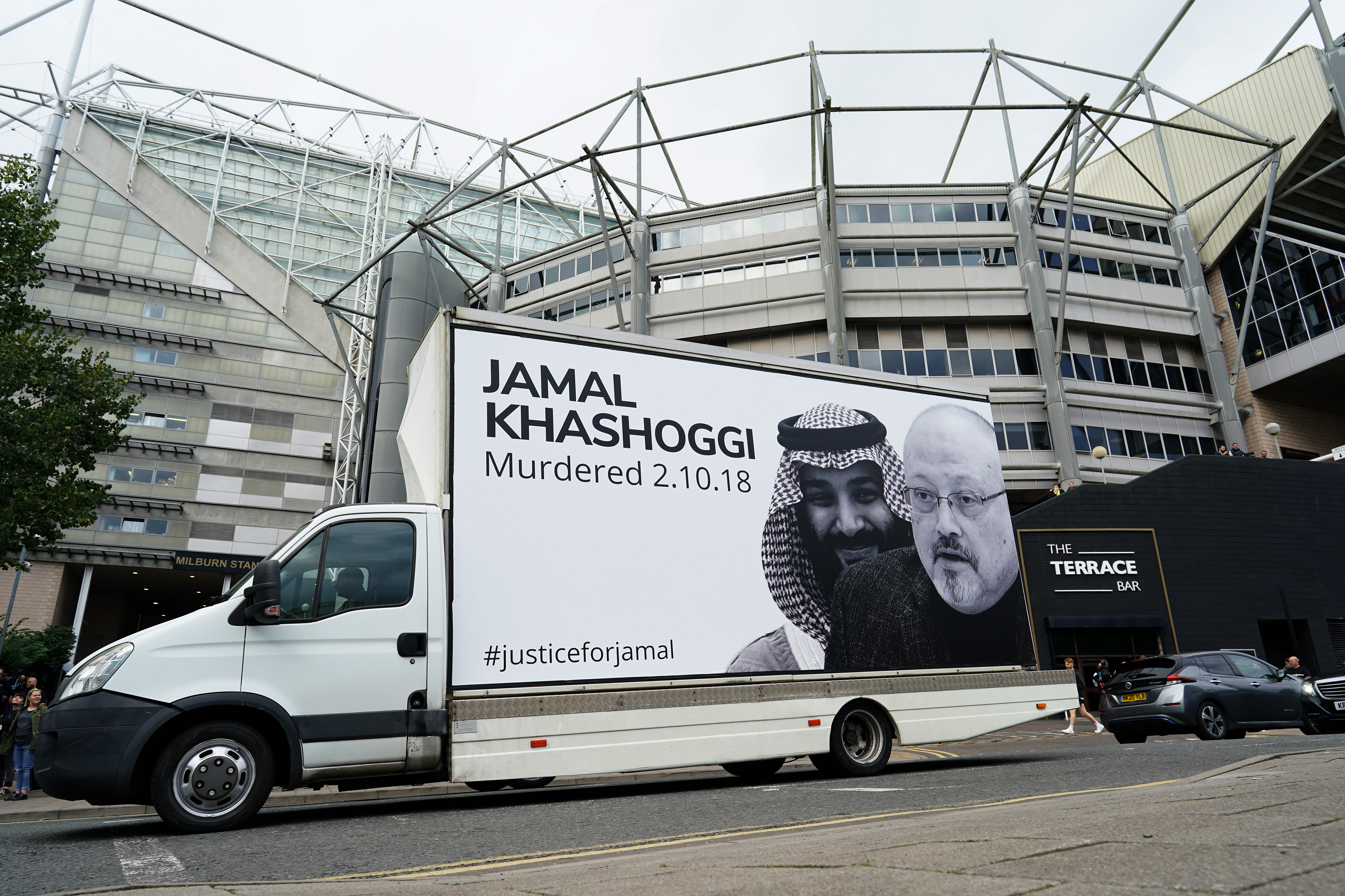 Supporters Head to St James's Park For The First Game After Newcastle United's Takeover