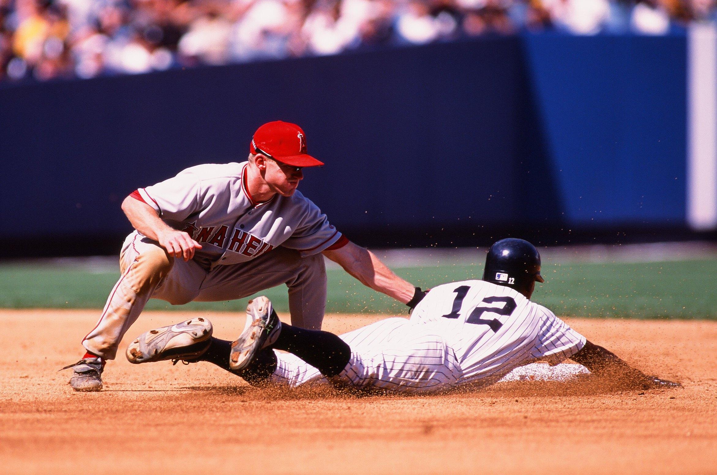 Anaheim Angels v New York Yankees