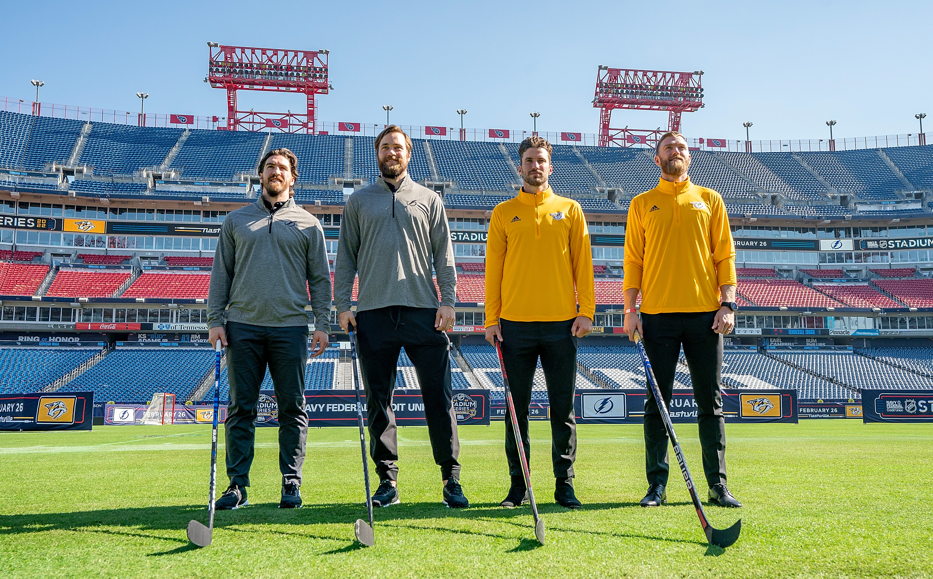 2022 Navy Federal Credit Union NHL Stadium Series Press Conference