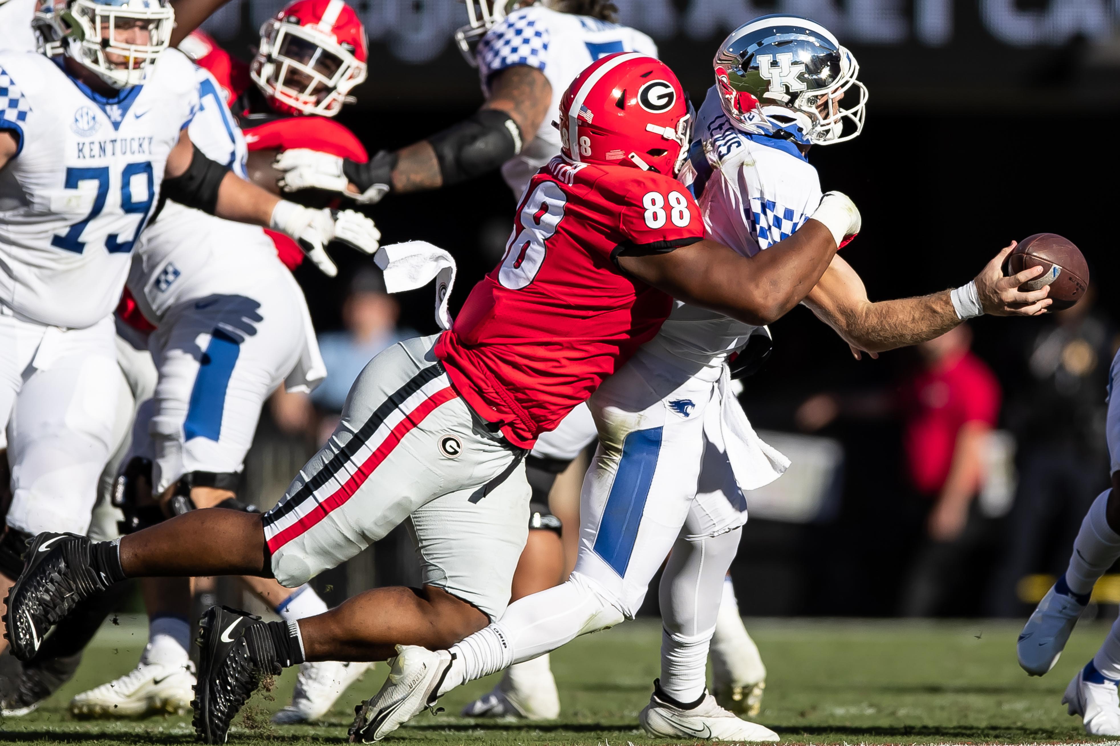 Kentucky Wildcats v Georgia Bulldogs
