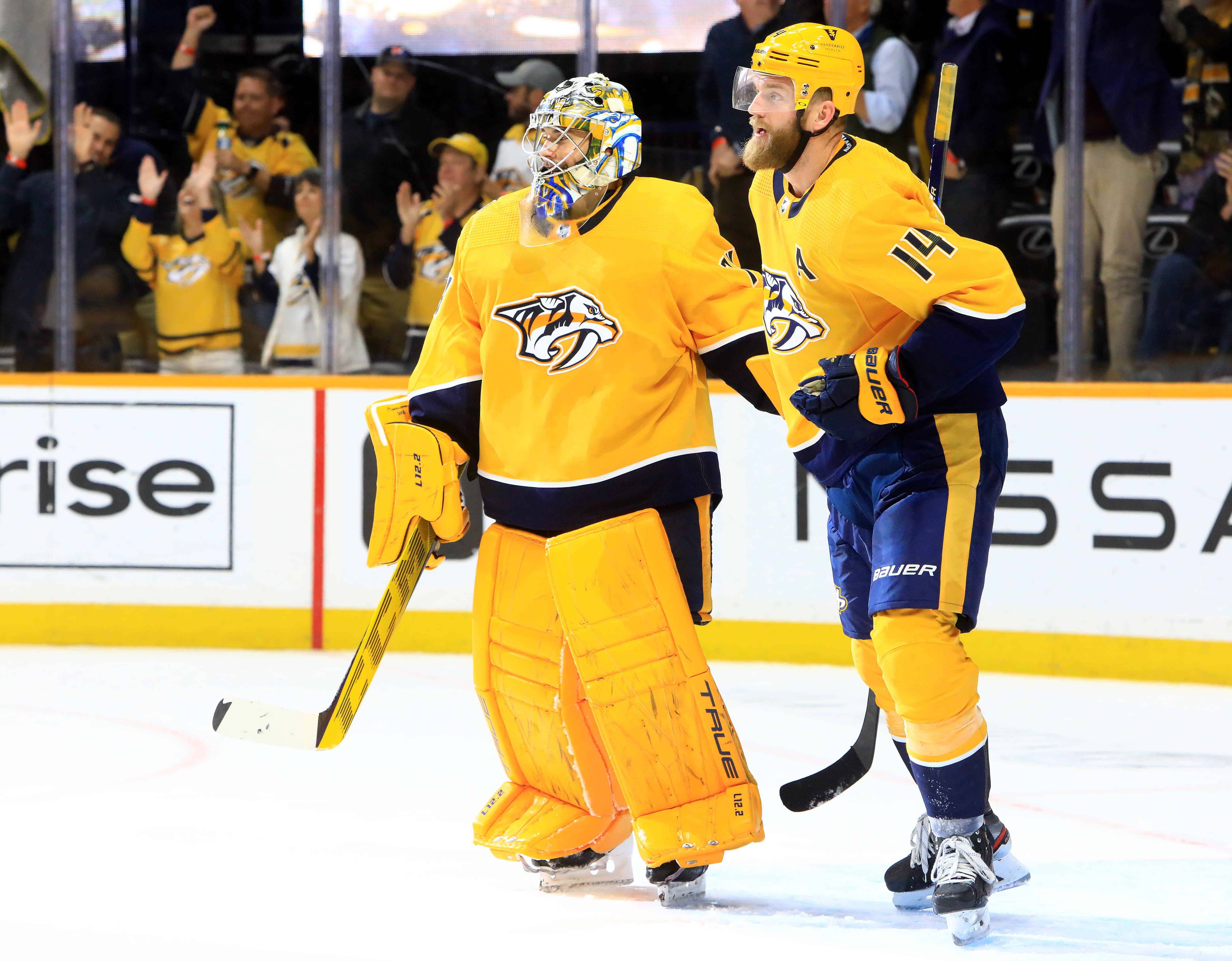 NHL: OCT 19 Kings at Predators