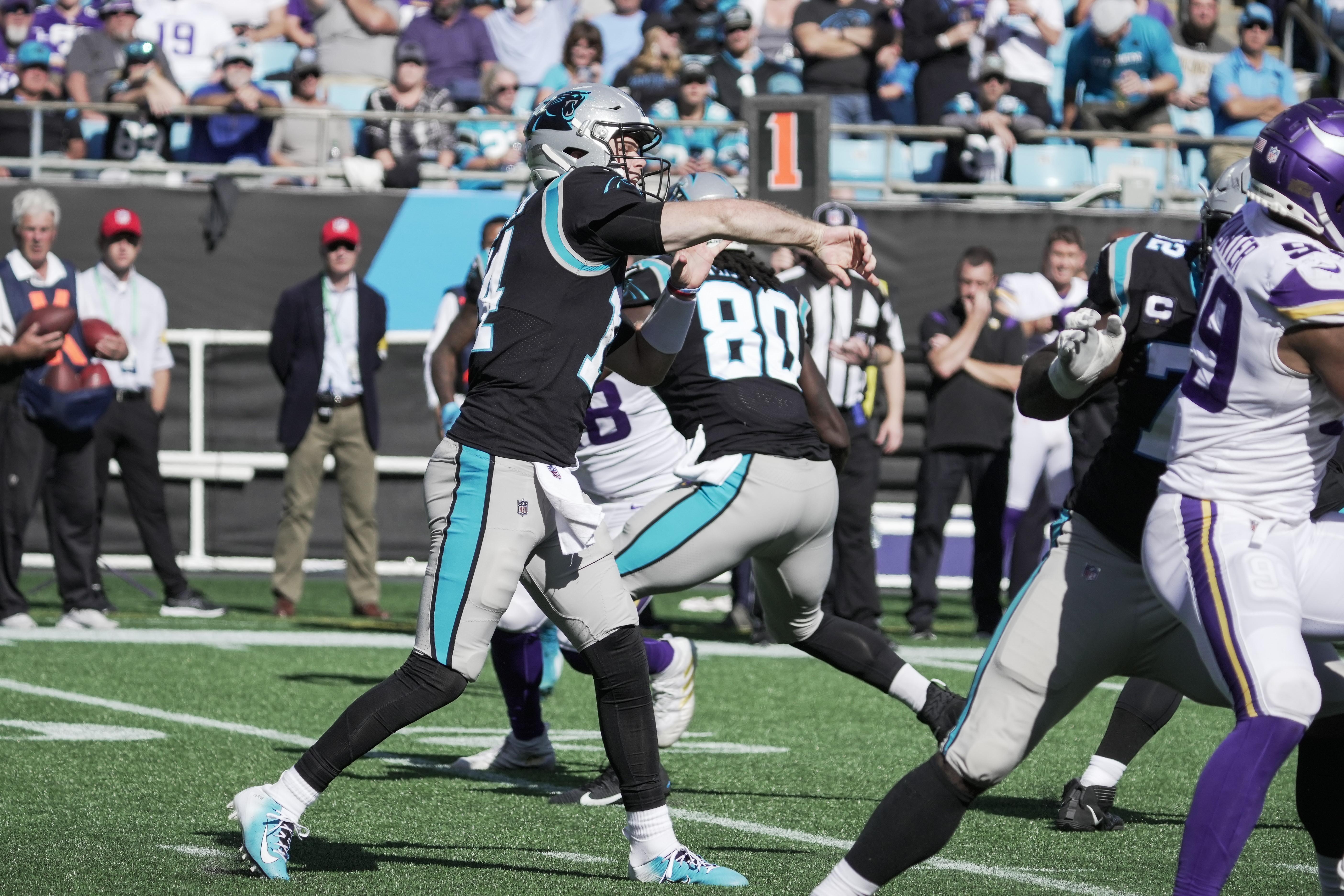 NFL: Minnesota Vikings at Carolina Panthers