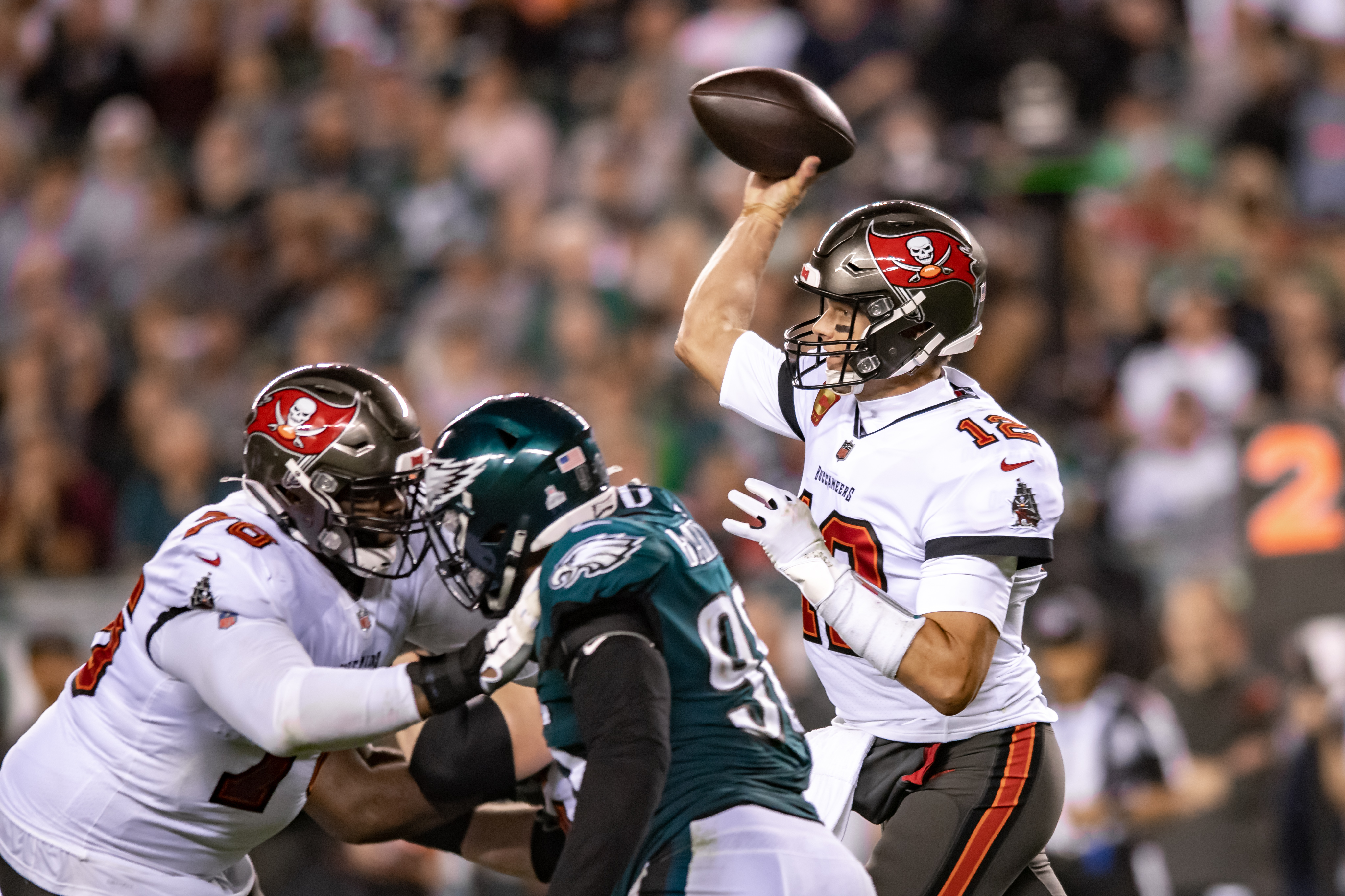 NFL: OCT 14 Buccaneers at Eagles