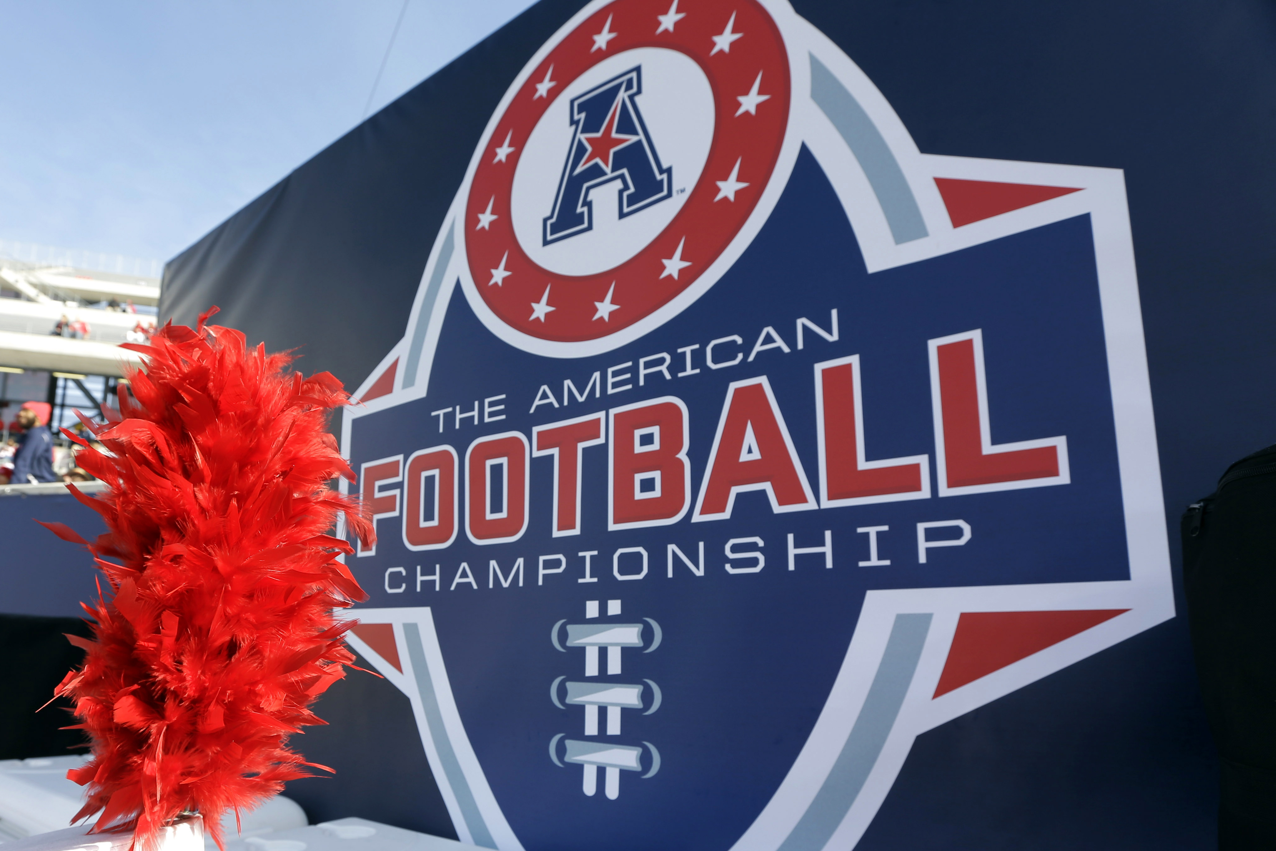 The American Athletic Conference is adding UAB, Texas-San Antonio, Rice, North Texas, Charlotte and Florida Atlantic to the league, replacing Cincinnati, Houston and Central Florida.