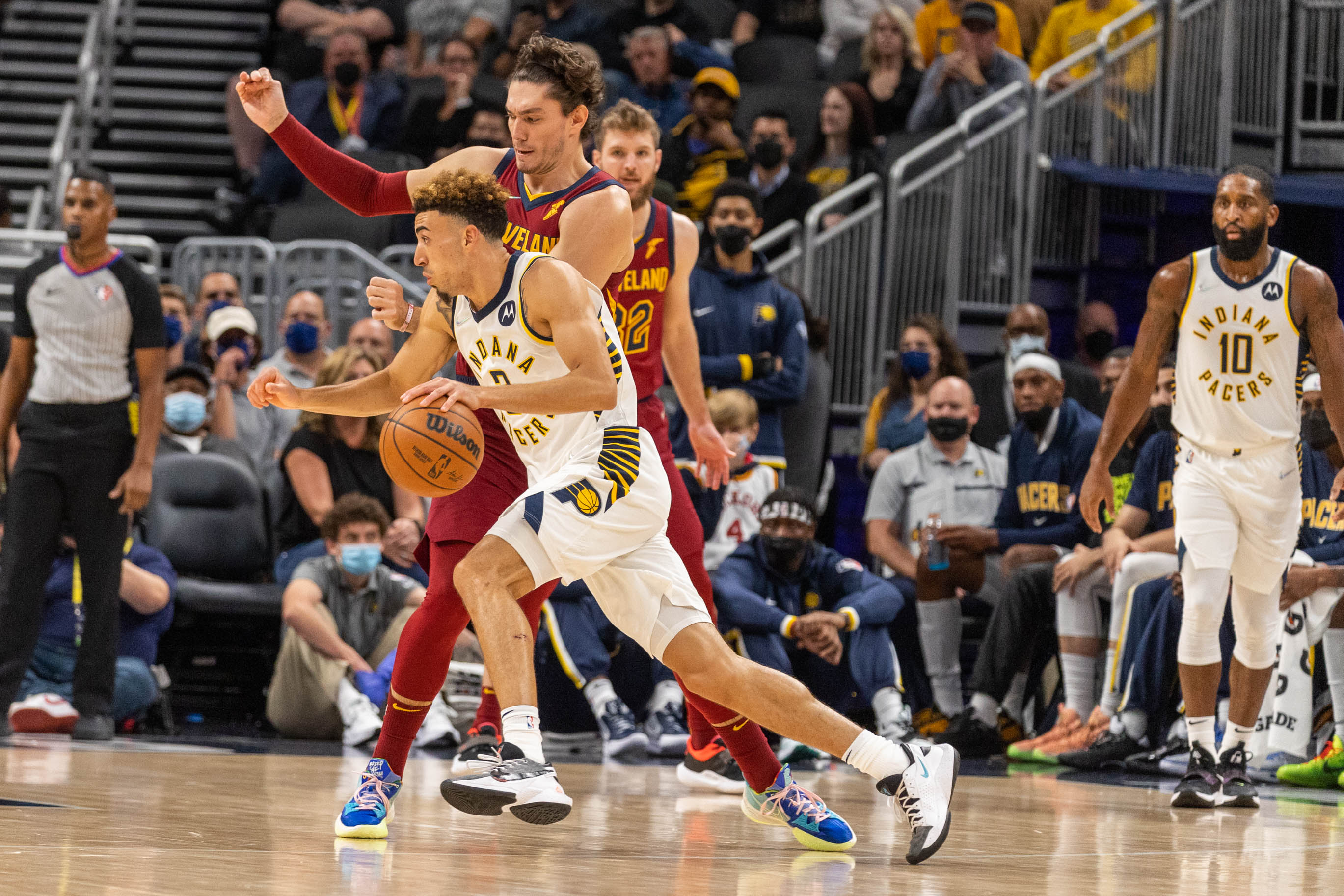 NBA: Preseason-Cleveland Cavaliers at Indiana Pacers