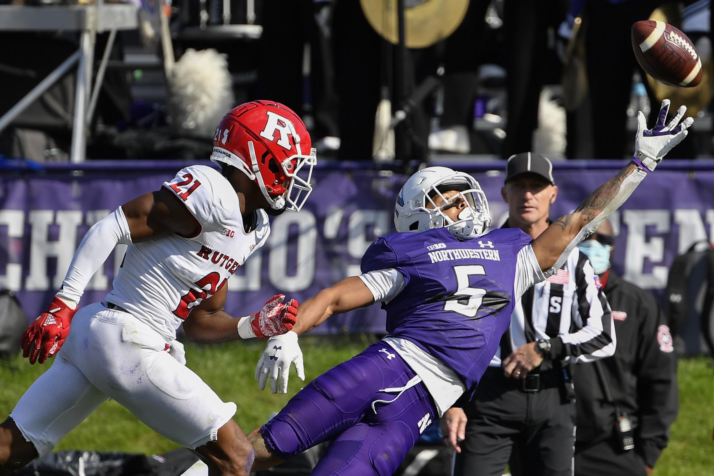 NCAA Football: Rutgers at Northwestern