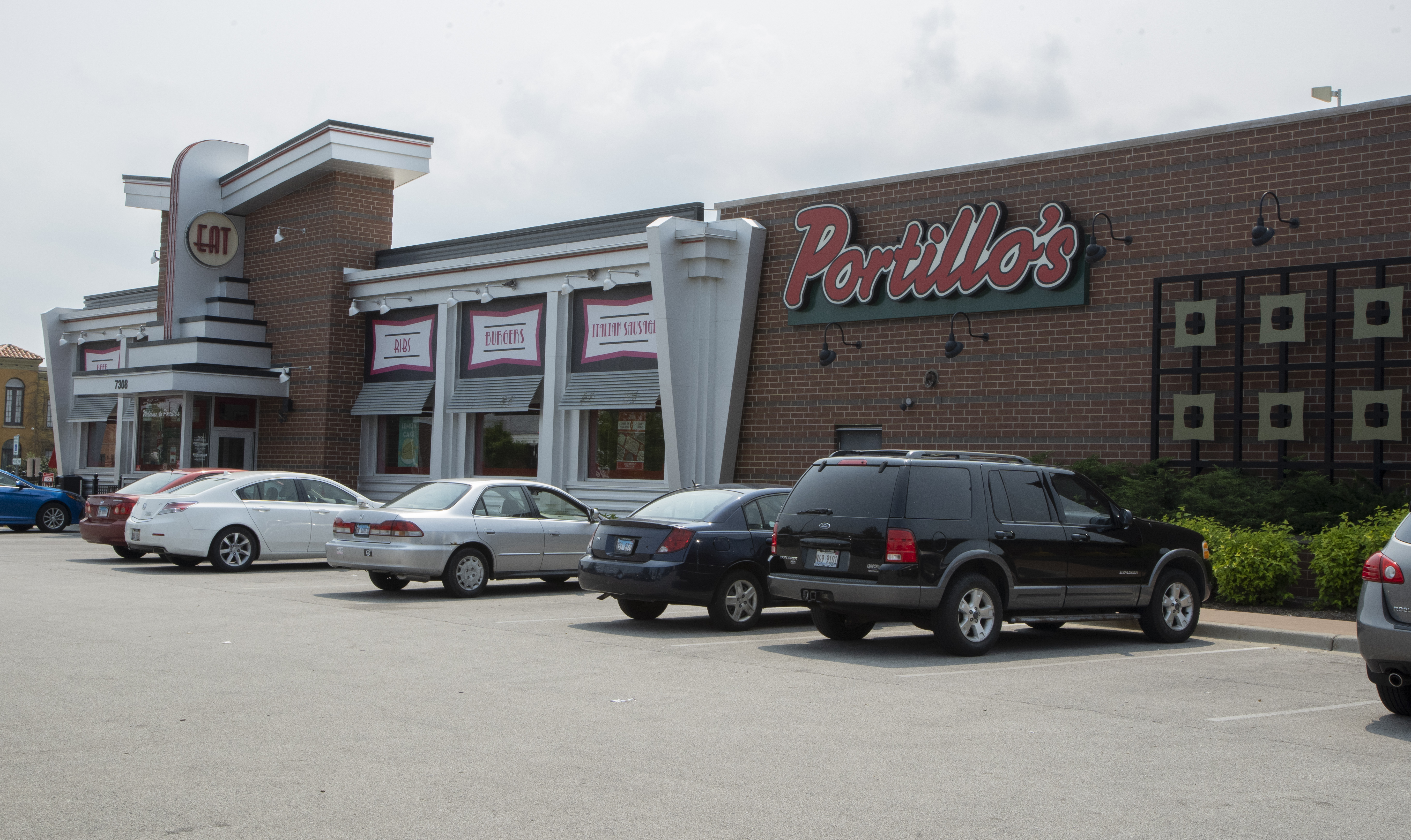 The Portillo's Hot Dogs located at 7308 W. Lawrence Ave.