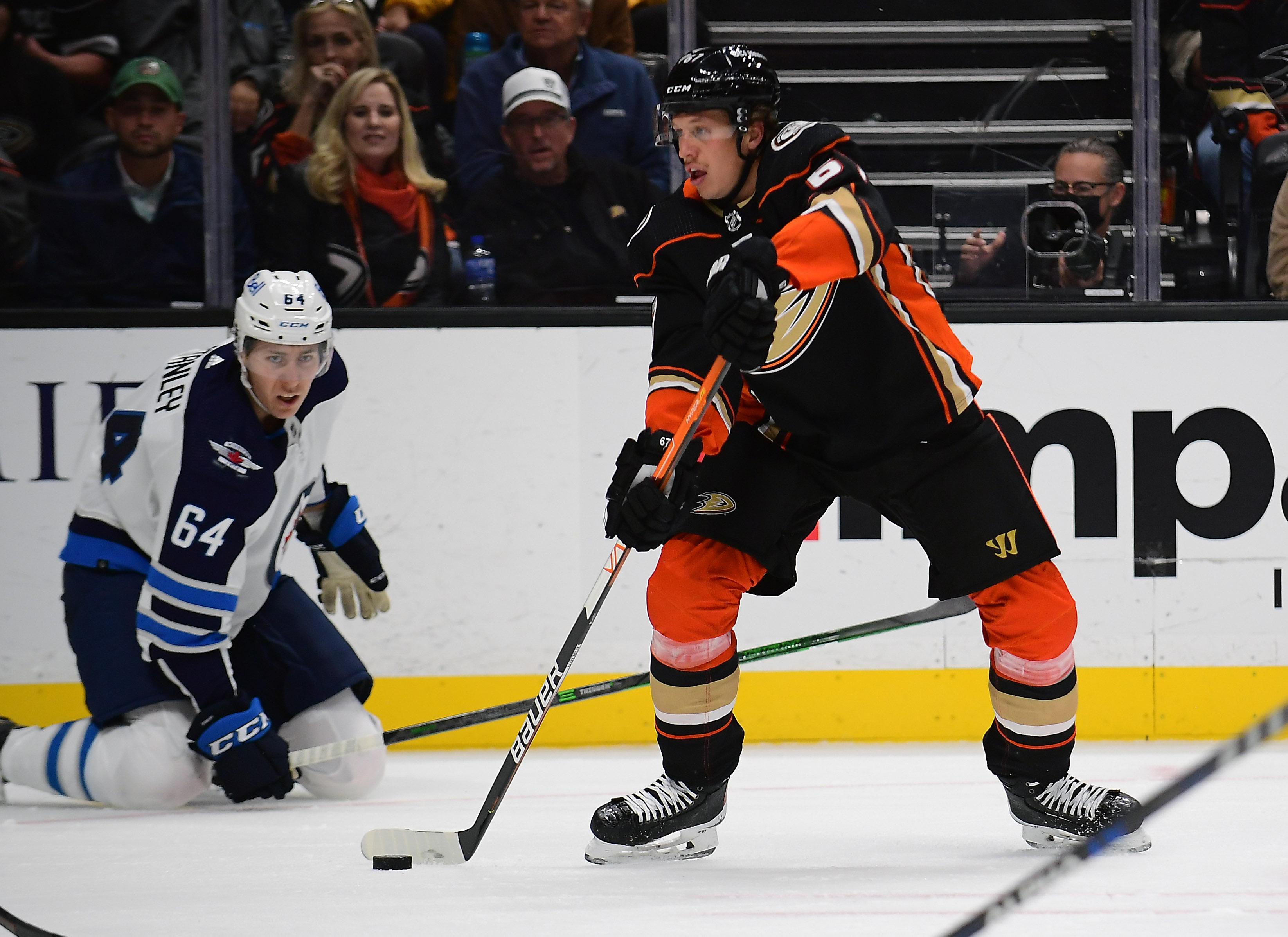 NHL: Winnipeg Jets at Anaheim Ducks