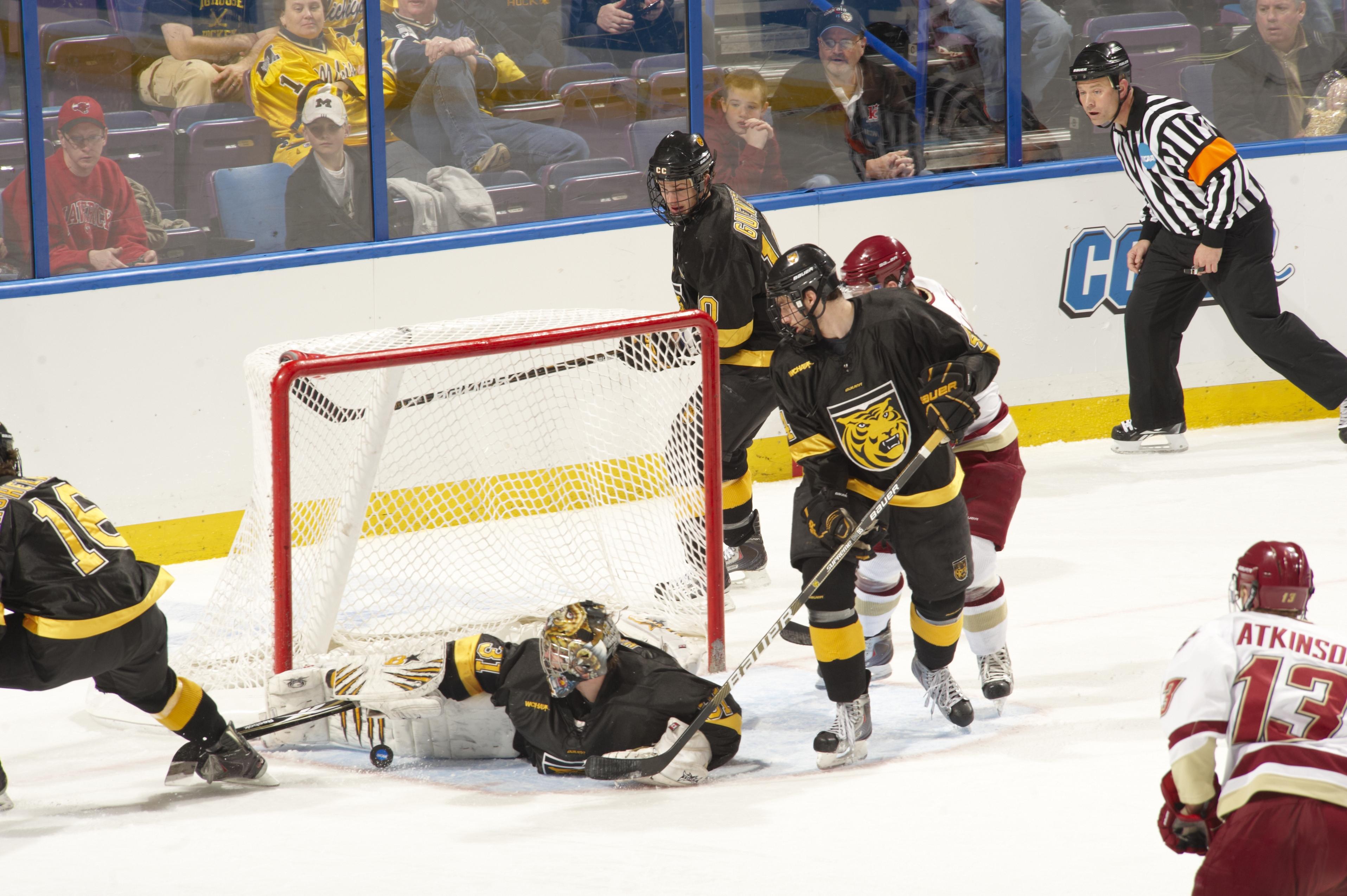 Boston College vs Colorado College, 2011 NCAA Men's Division I Ice Hockey West Regional Semifinals