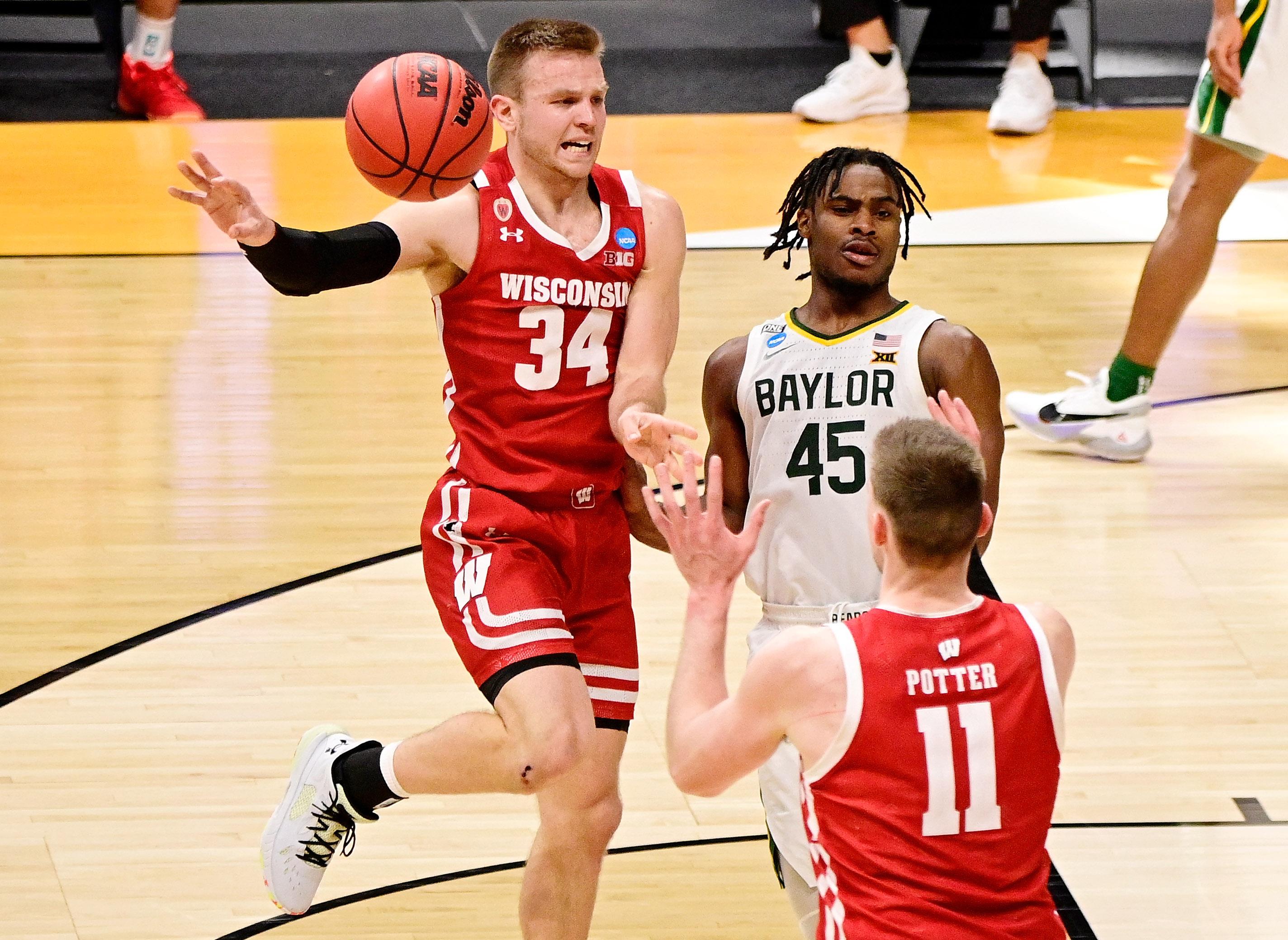 NCAA Basketball: NCAA Tournament-Wisconsin at Baylor