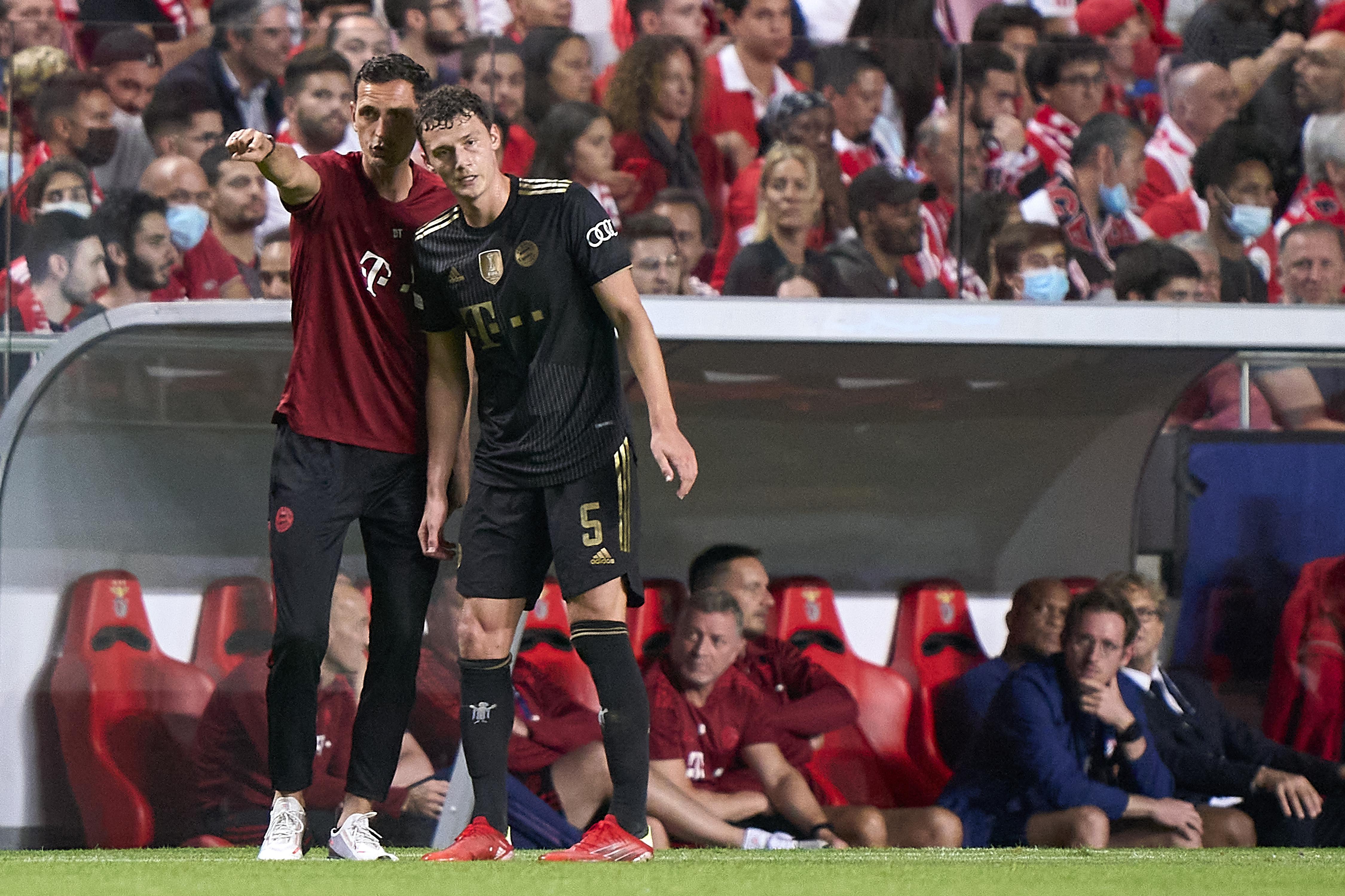 SL Benfica v Bayern München: Group E - UEFA Champions League