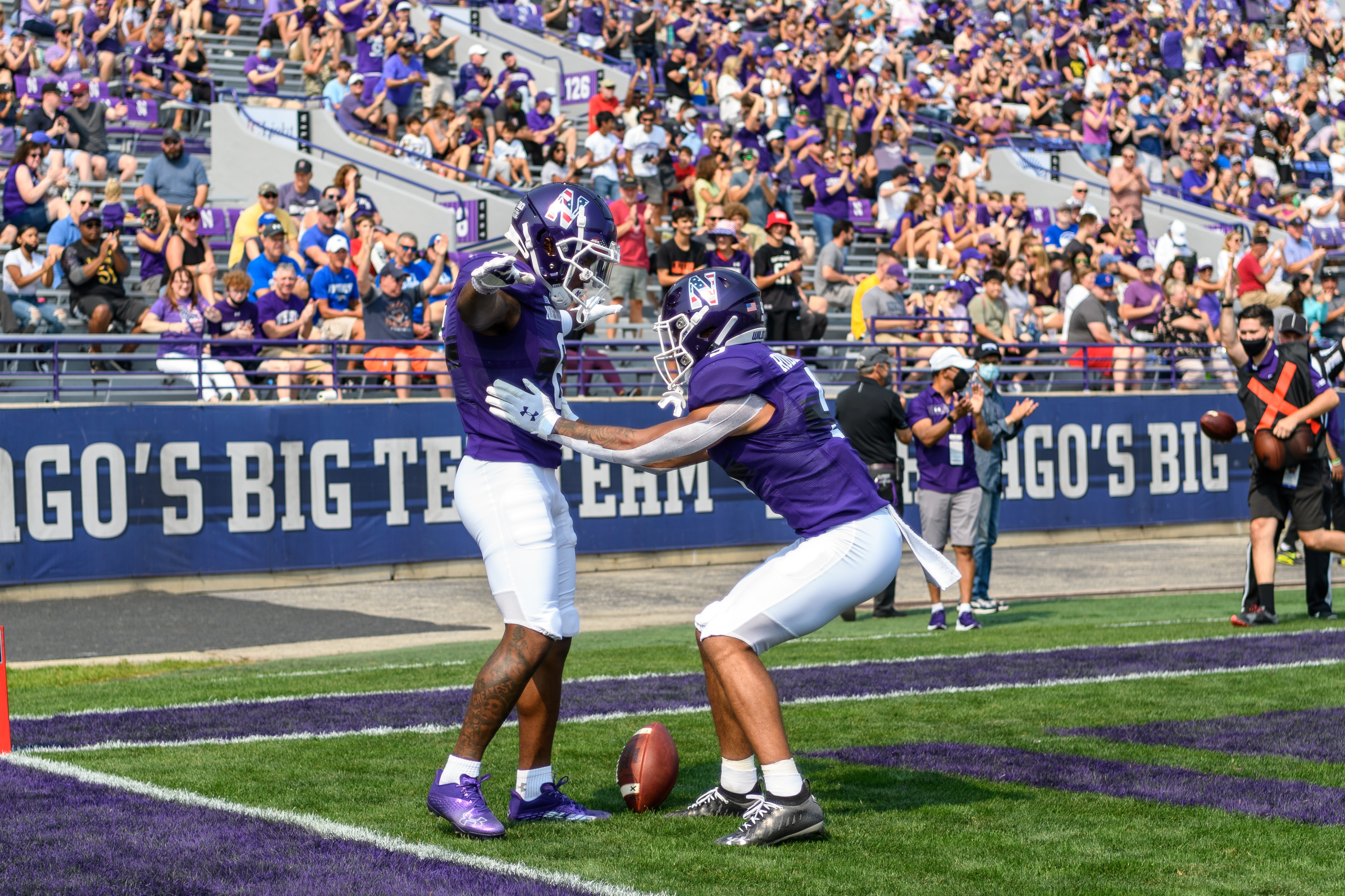 COLLEGE FOOTBALL: SEP 11 Indiana State at Northwestern