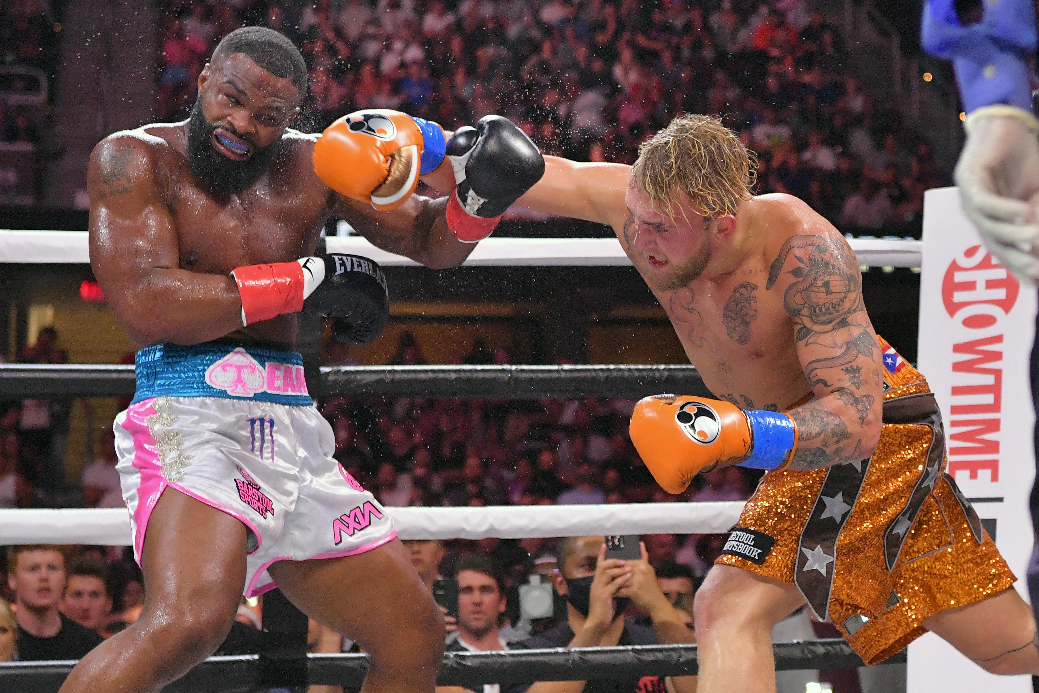 Jake Paul v Tyron Woodley boxing mma news