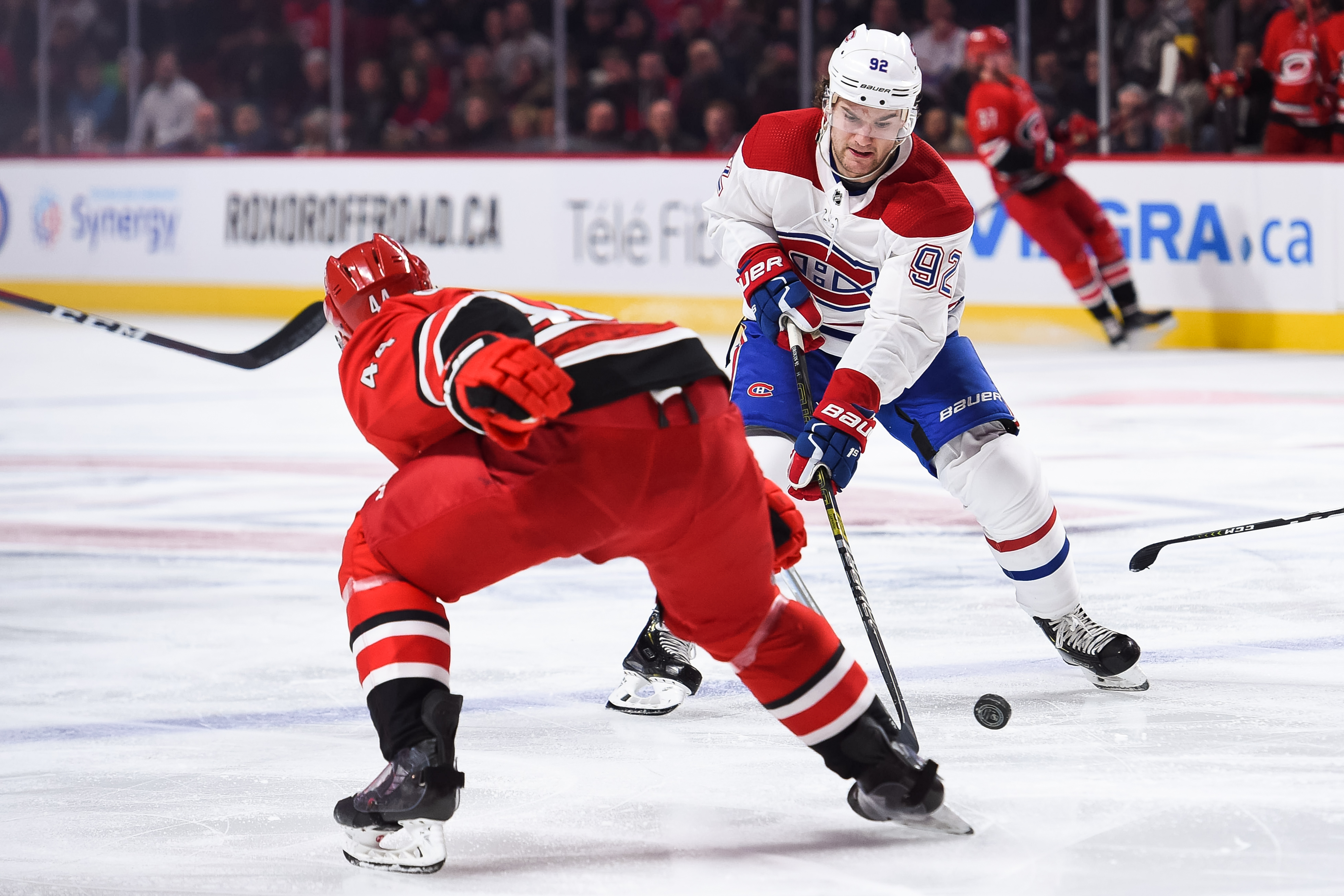 NHL: DEC 13 Hurricanes at Canadiens