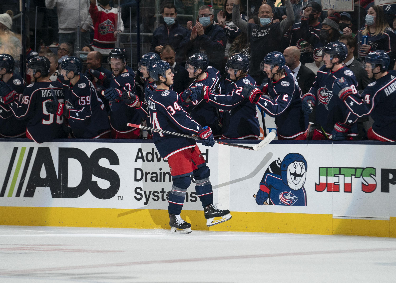 NHL: OCT 21 Islanders at Blue Jackets