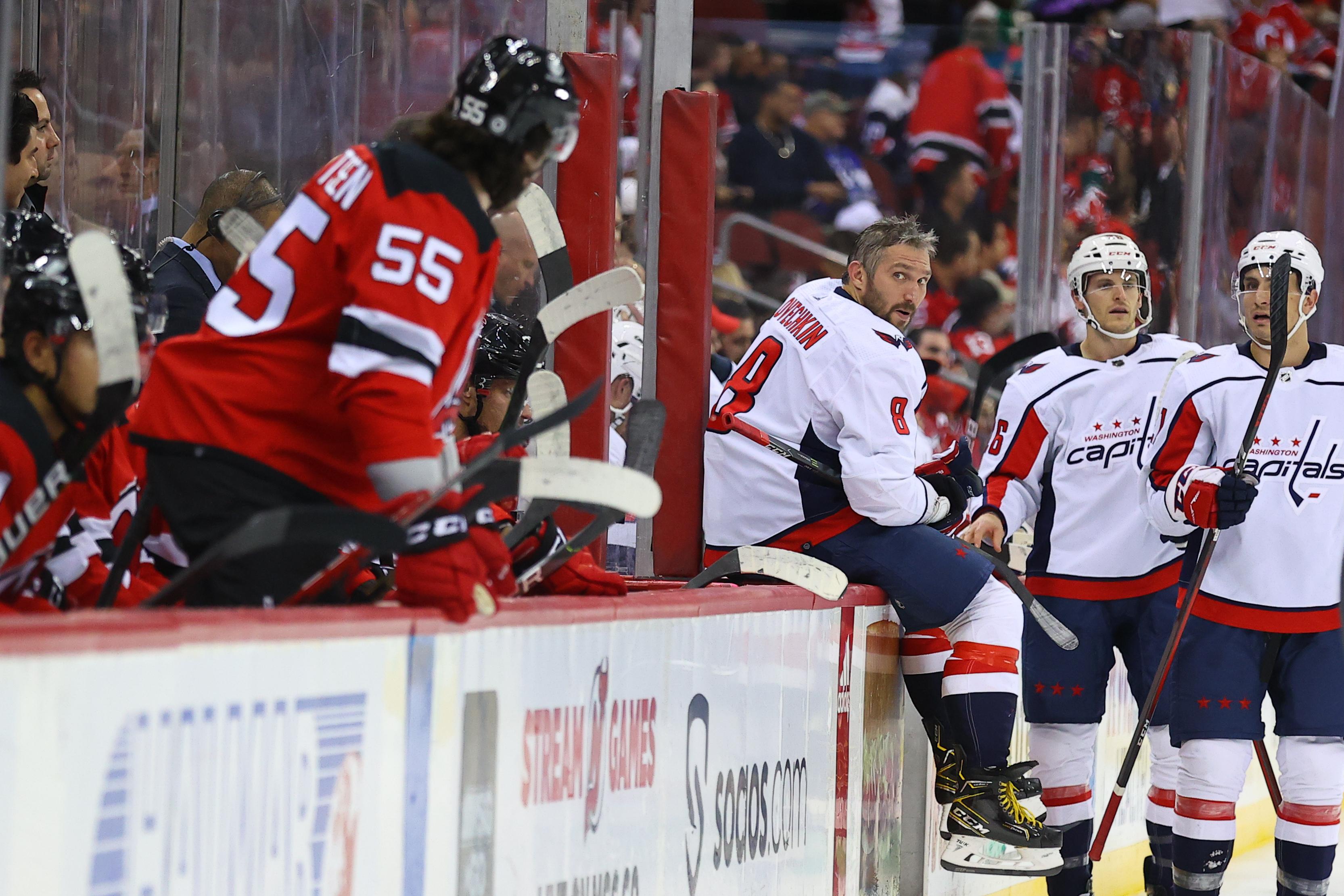 NHL: OCT 21 Capitals at Devils