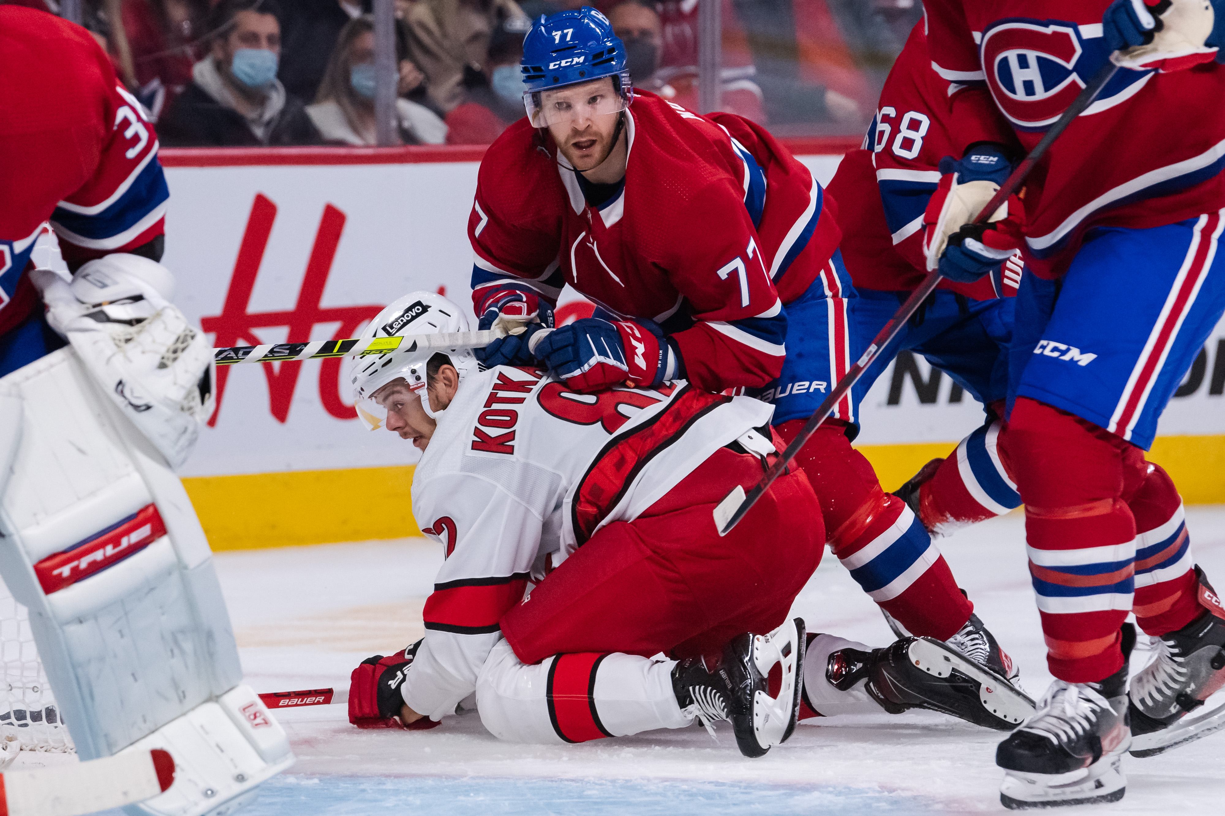 NHL: OCT 21 Hurricanes at Canadiens