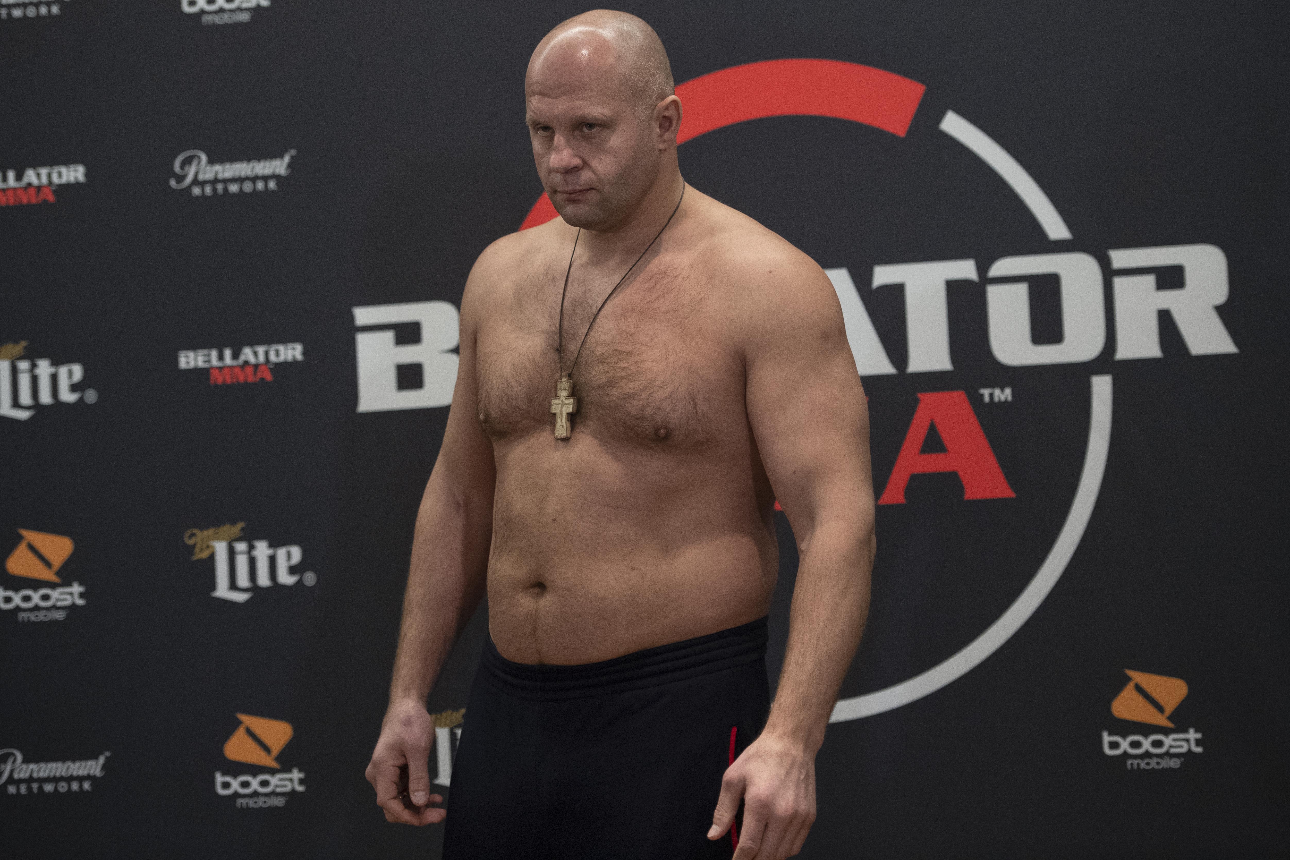 Bellator 214 official weigh-ins