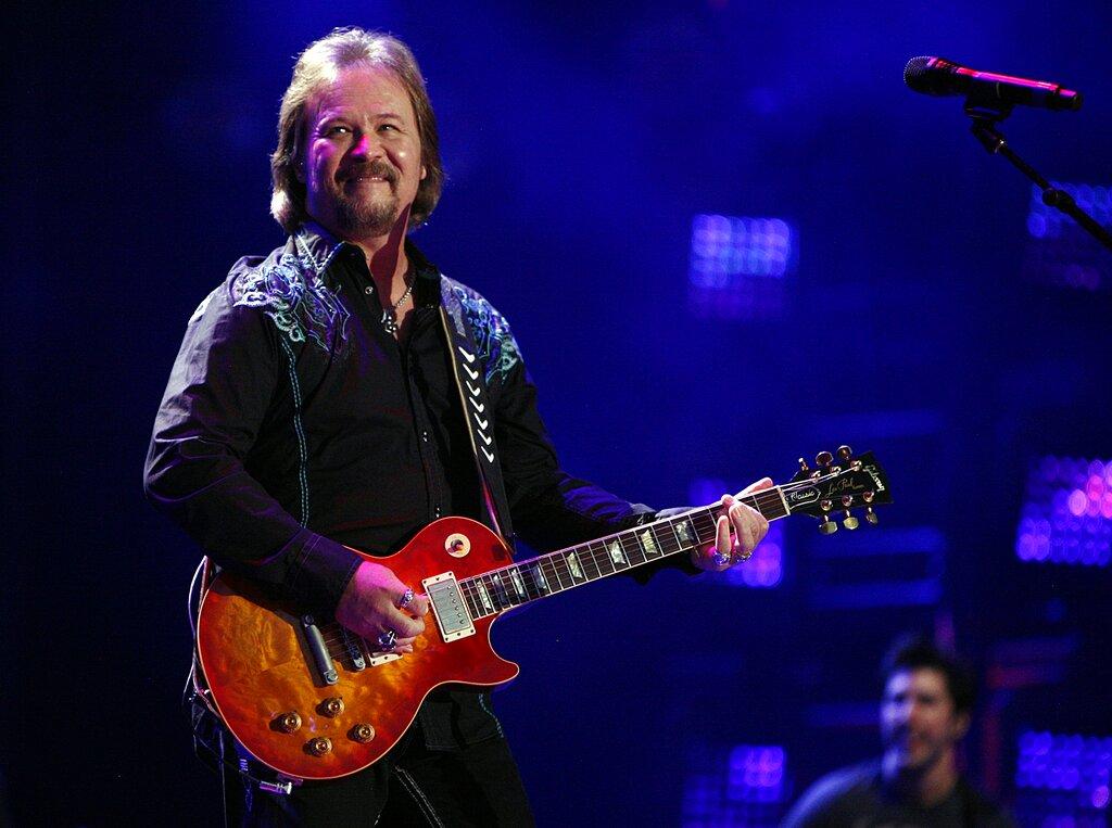 Travis Tritt performs in Nashville, Tennessee.