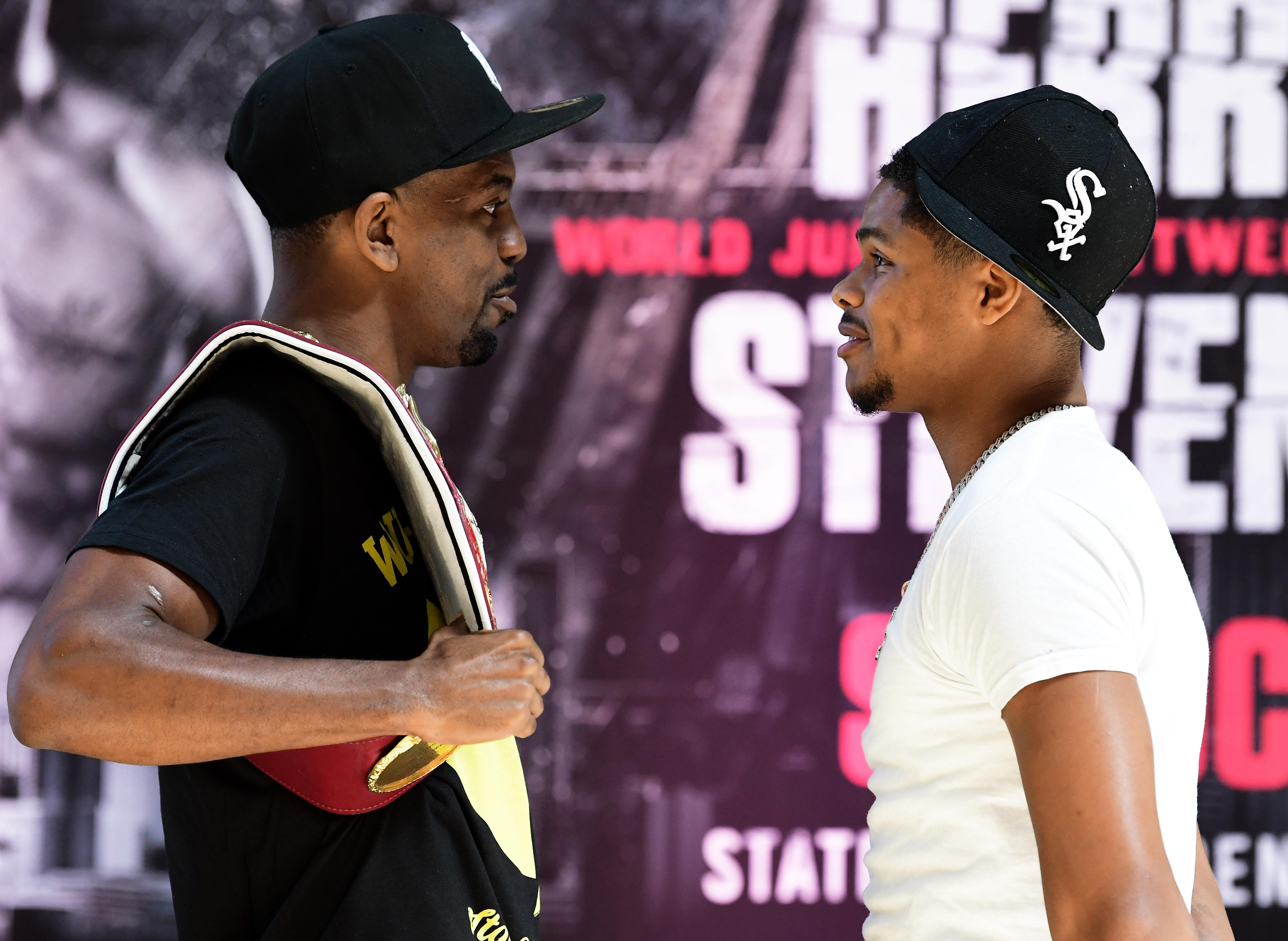 Who wins Jamel Herring vs Shakur Stevenson?