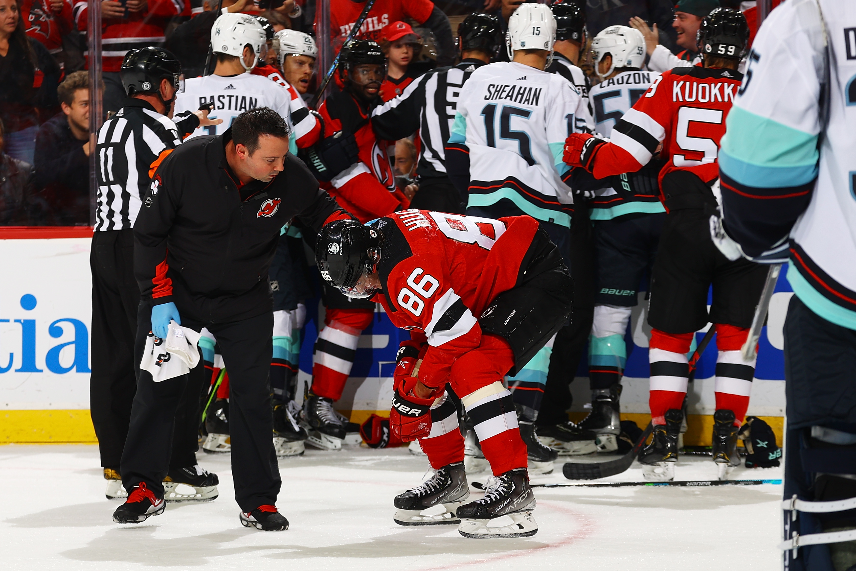 Seattle Kraken v New Jersey Devils