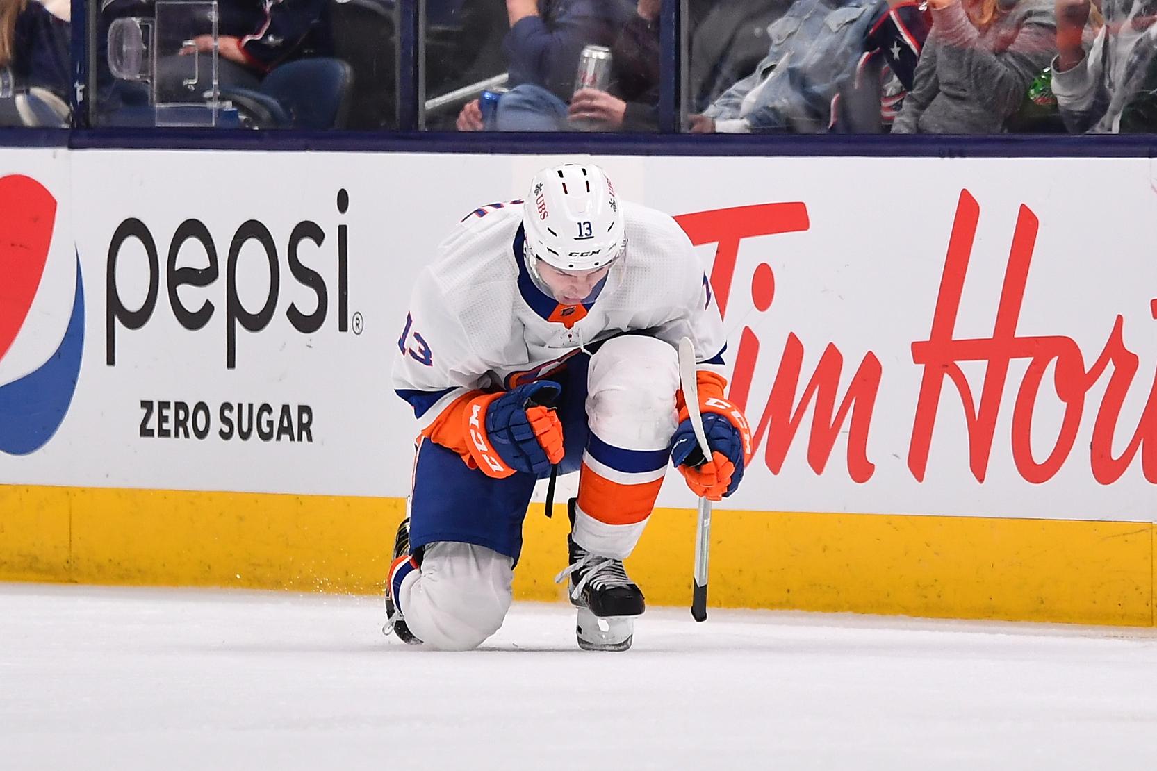 New York Islanders v Columbus Blue Jackets